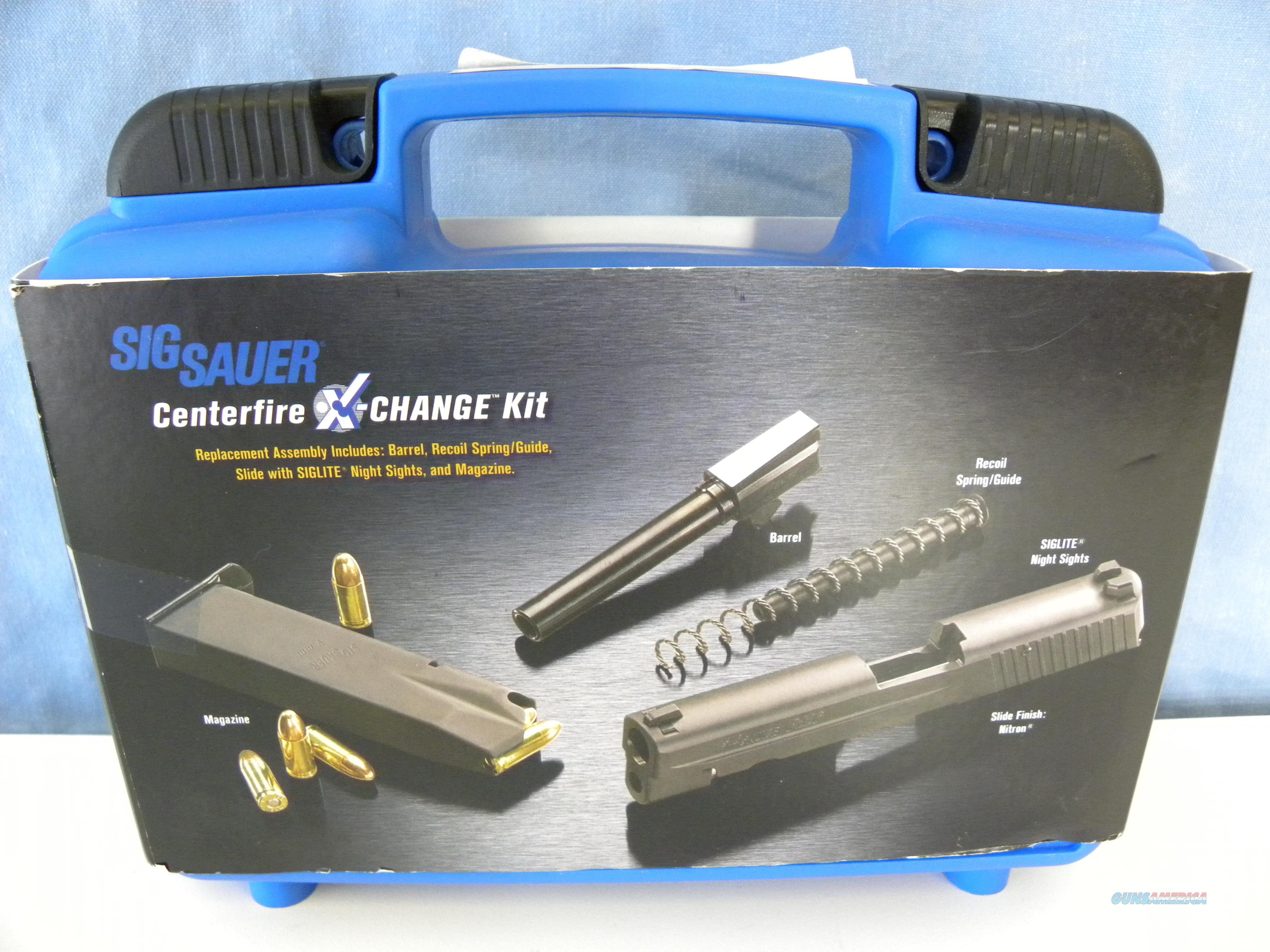 Sig Sauer 229 Caliber X-Change Kit .40 S&W  Non-Guns > Gun Parts > Misc > Pistols