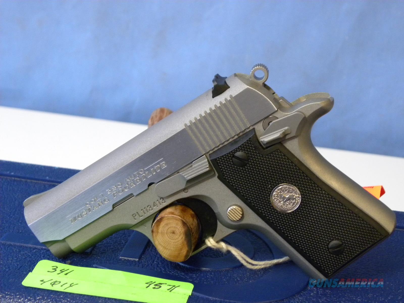 Colt Mustang Pocketlite SS .380 06891  Guns > Pistols > Colt Automatic Pistols (.25, .32, & .380 cal)