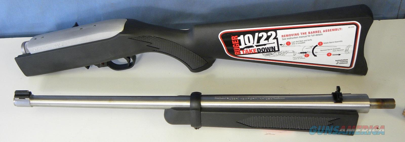 Ruger 10/22 Takedown 11100  Guns > Rifles > Ruger Rifles > 10-22