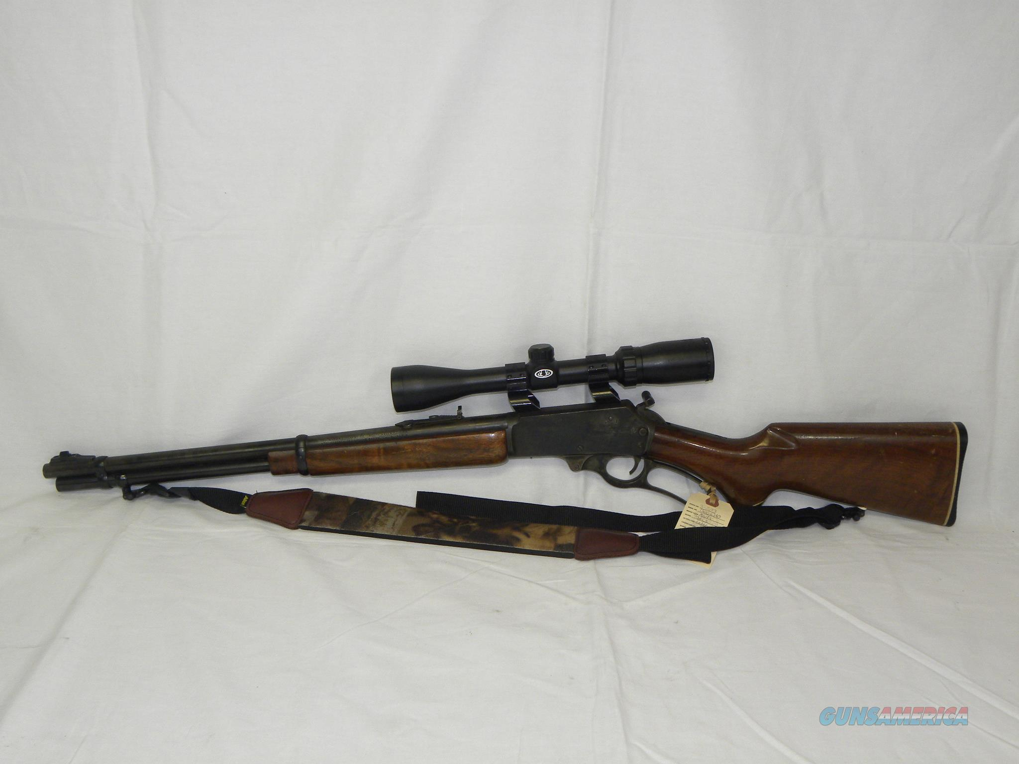 Marlin 336CS w/ Bushnell Scope  Guns > Rifles > Marlin Rifles > Modern > Lever Action