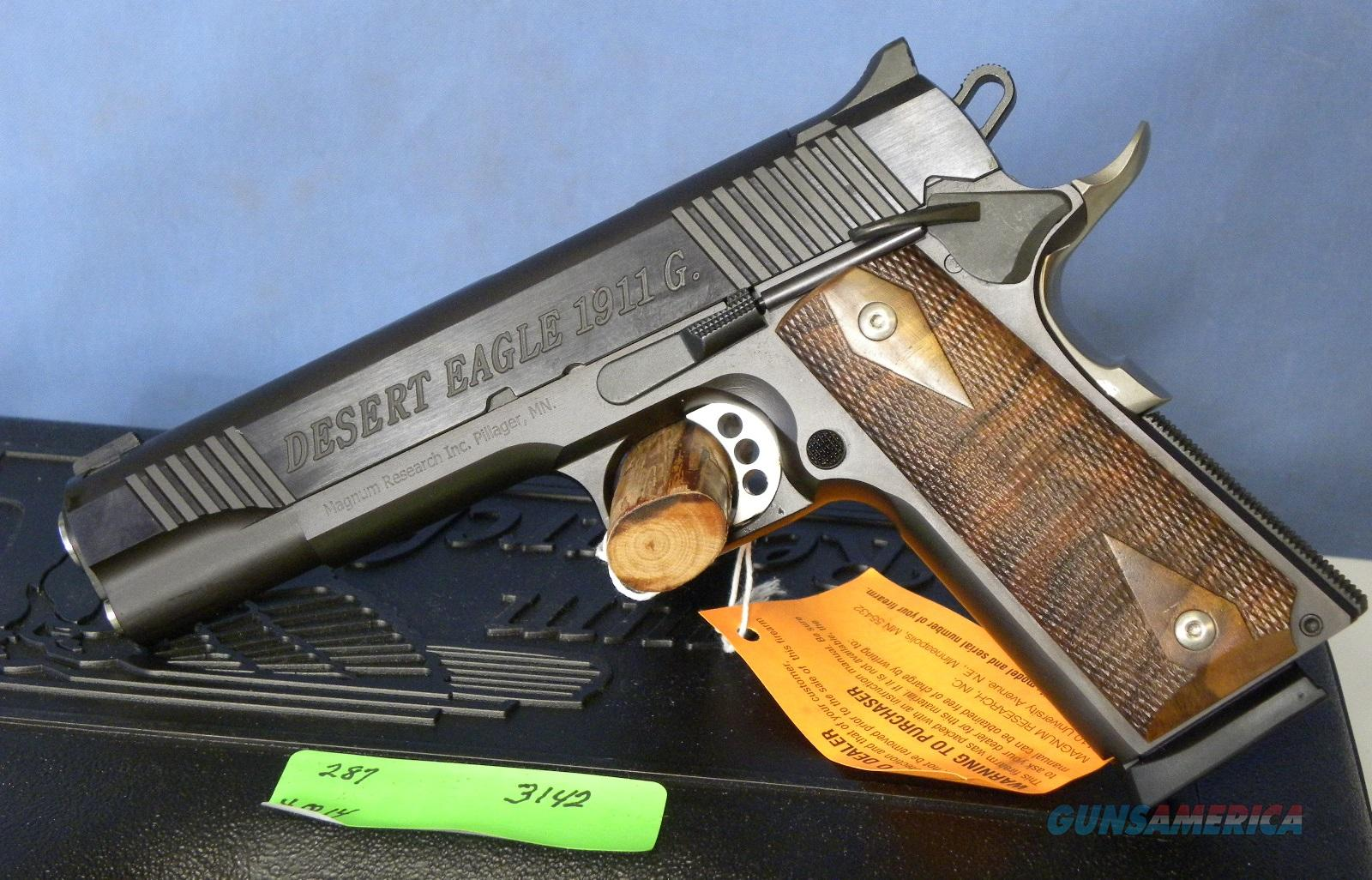 Magnum Research 1911 G  Guns > Pistols > Magnum Research Pistols