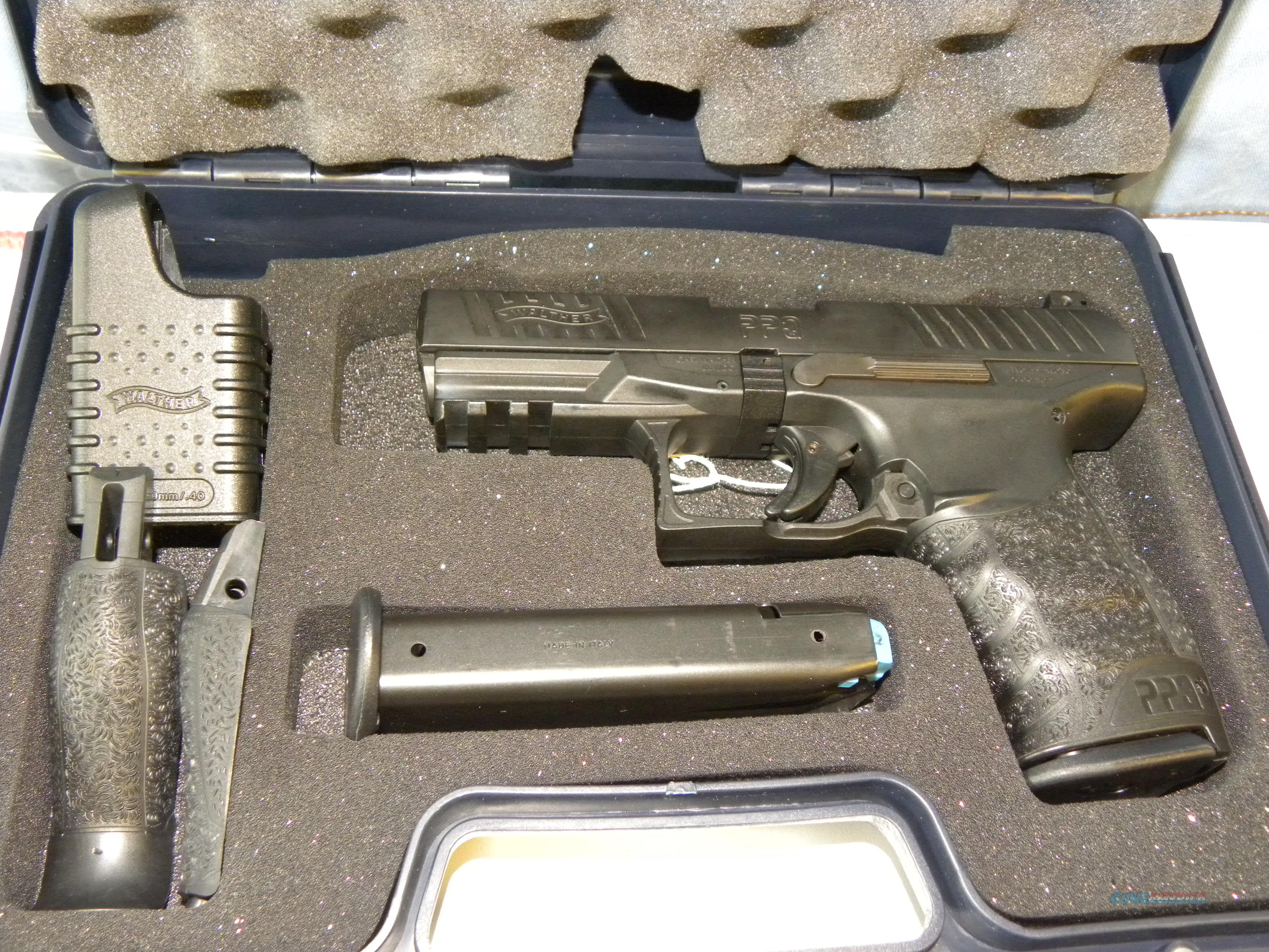Walther PPQ .40 S&W  Guns > Pistols > Walther Pistols > Post WWII > P99/PPQ