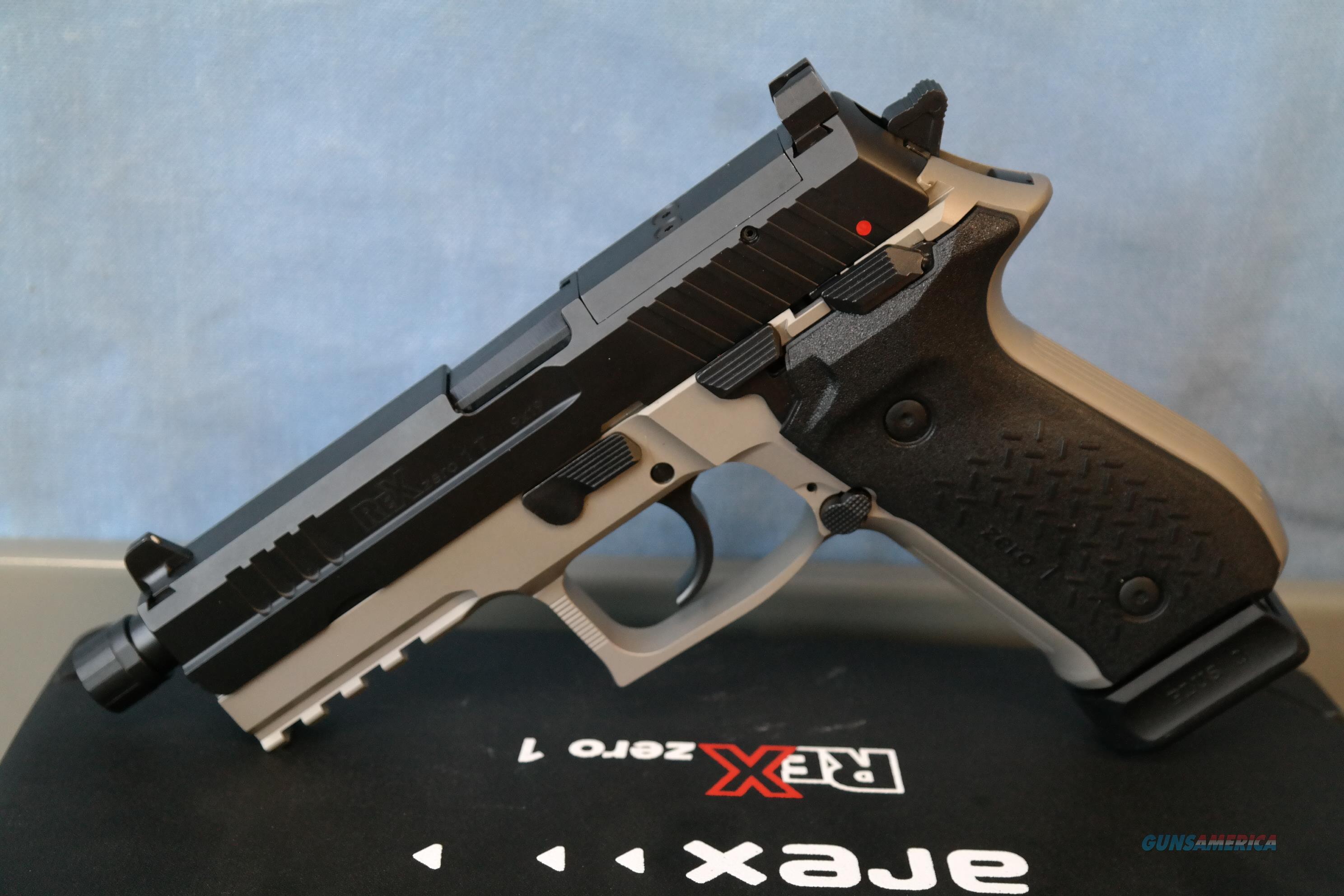 Rex Zero 1T Smoke Gray  Guns > Pistols > FIME Group Pistols > Rex Zero 1