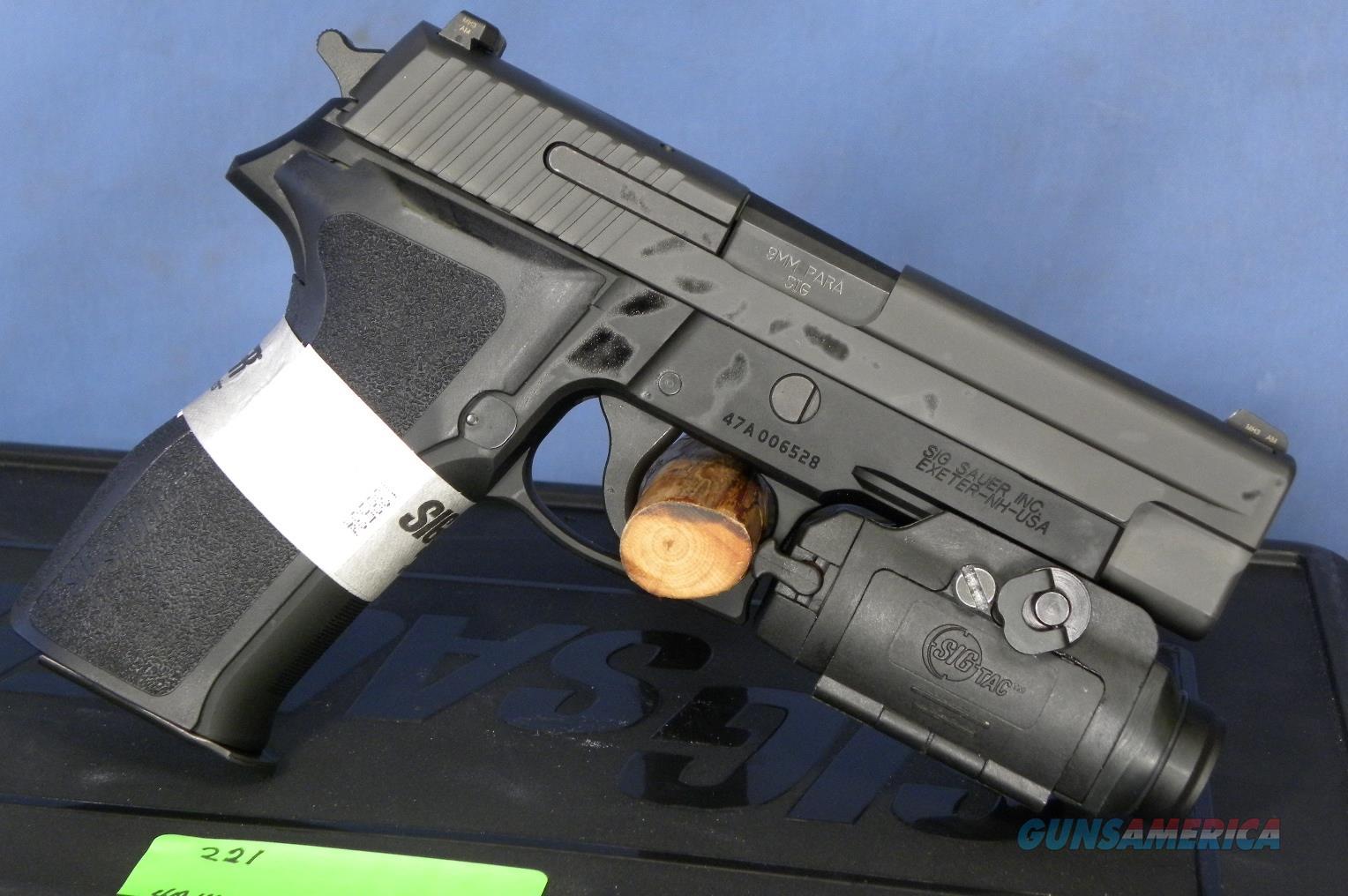Sig Sauer 226R-9-BSS-TACPAC-Laser  Guns > Pistols > Sig - Sauer/Sigarms Pistols > P226