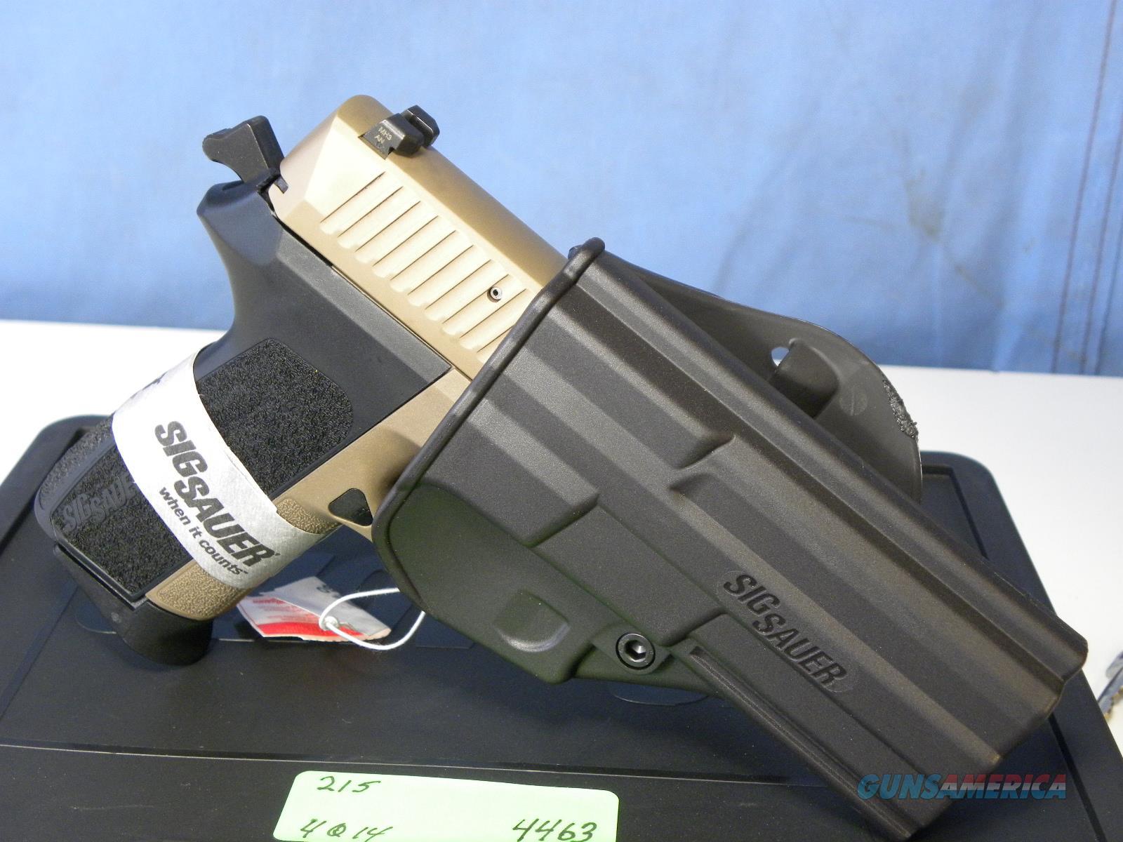 Sig Sauer E2022-9-FDE-BLKGRP  Guns > Pistols > Sig - Sauer/Sigarms Pistols > 2022
