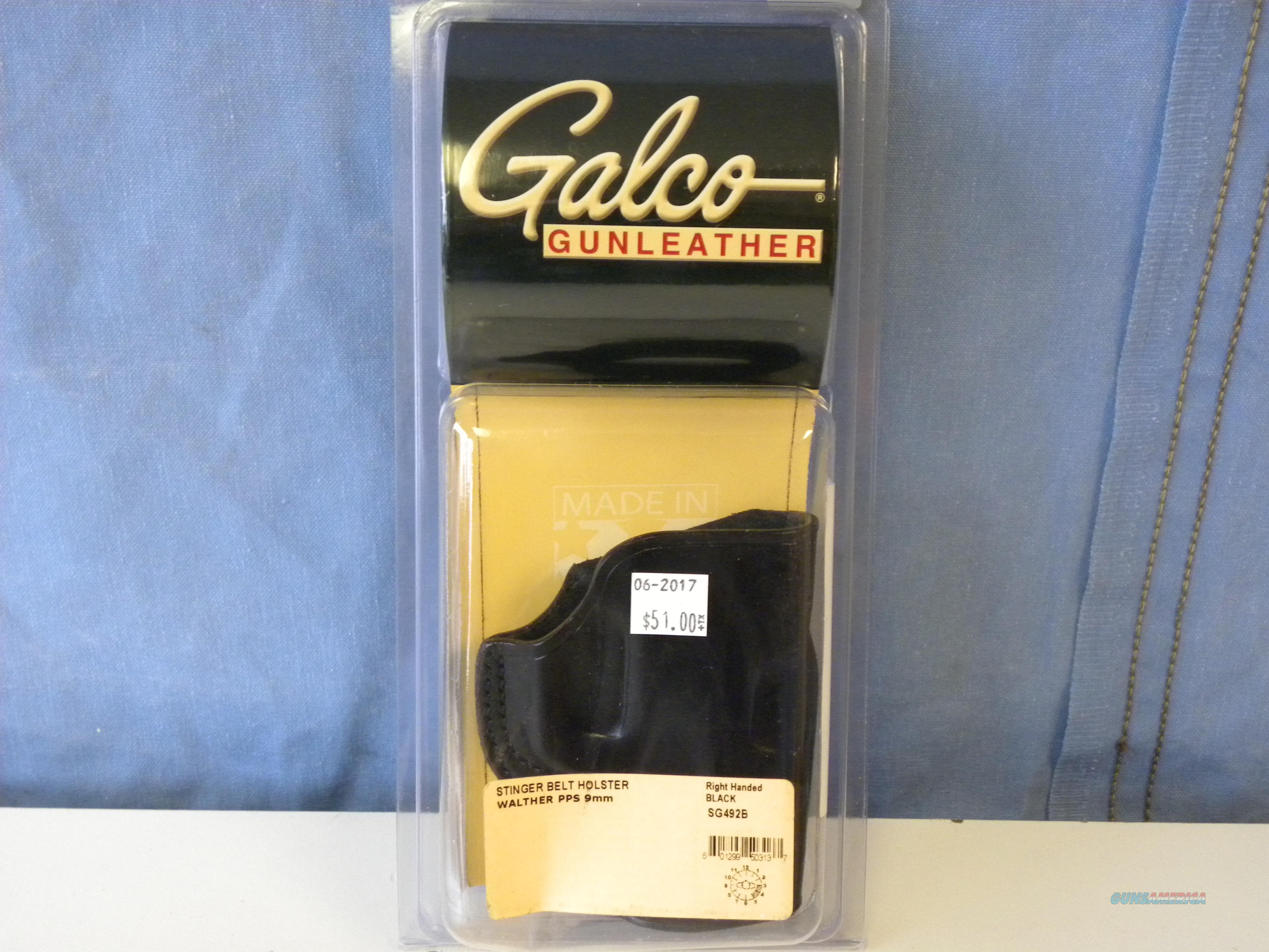 Galco Stinger Belt Holster (SG492B)  Non-Guns > Holsters and Gunleather > Large Frame Auto