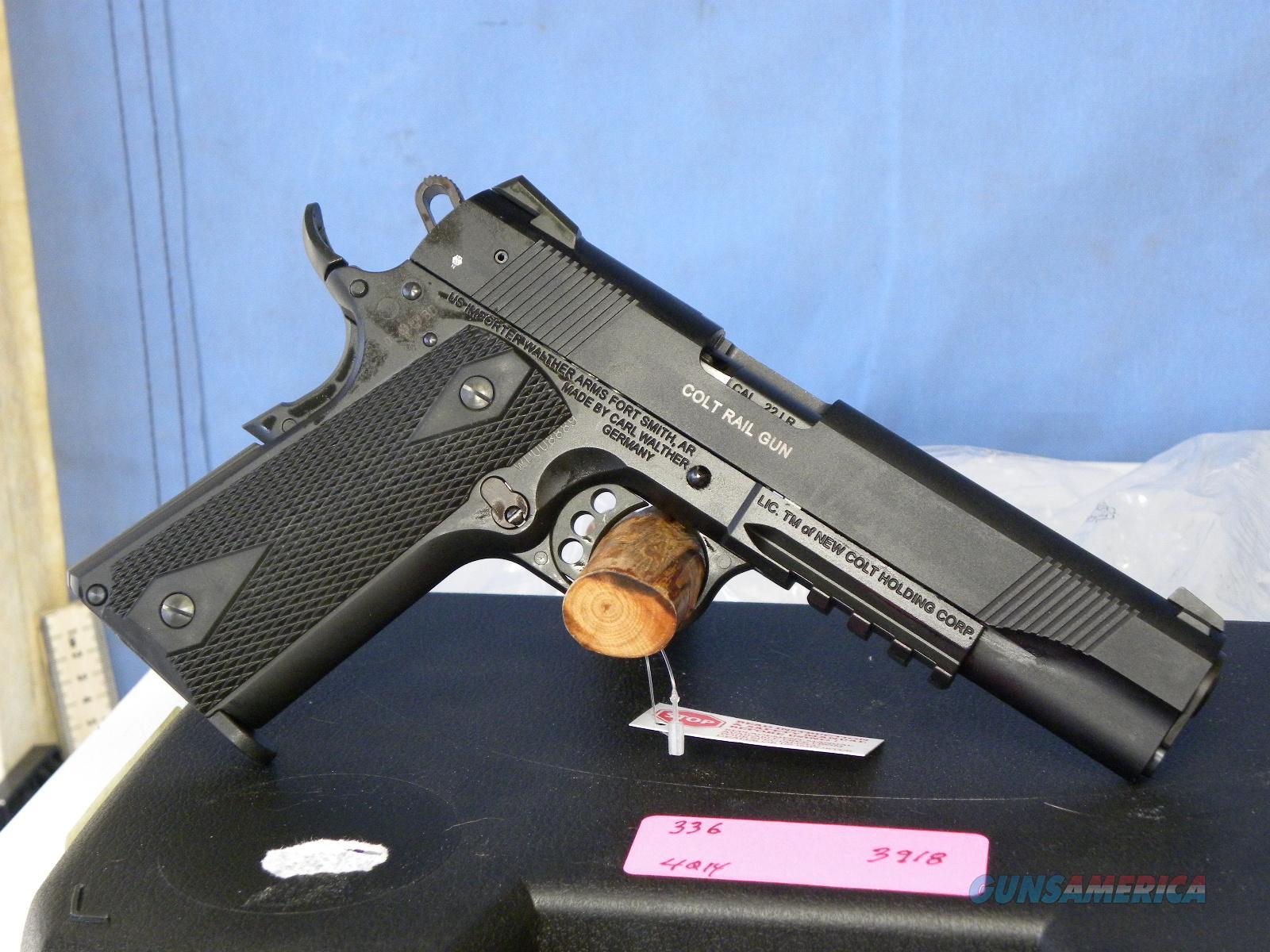 Colt 1911 Rail Gun .22 LR  Guns > Pistols > Colt Automatic Pistols (1911 & Var)