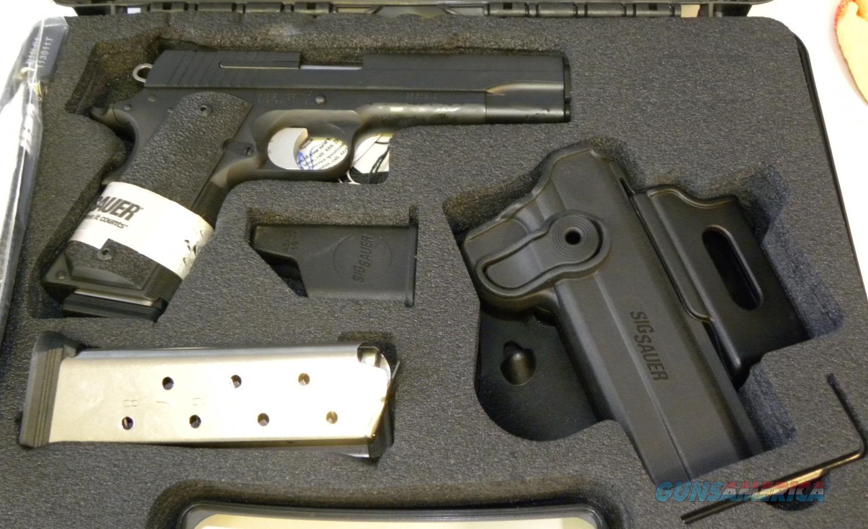 Sig Sauer 1911-45-TACPAC  Guns > Pistols > Sig - Sauer/Sigarms Pistols > 1911
