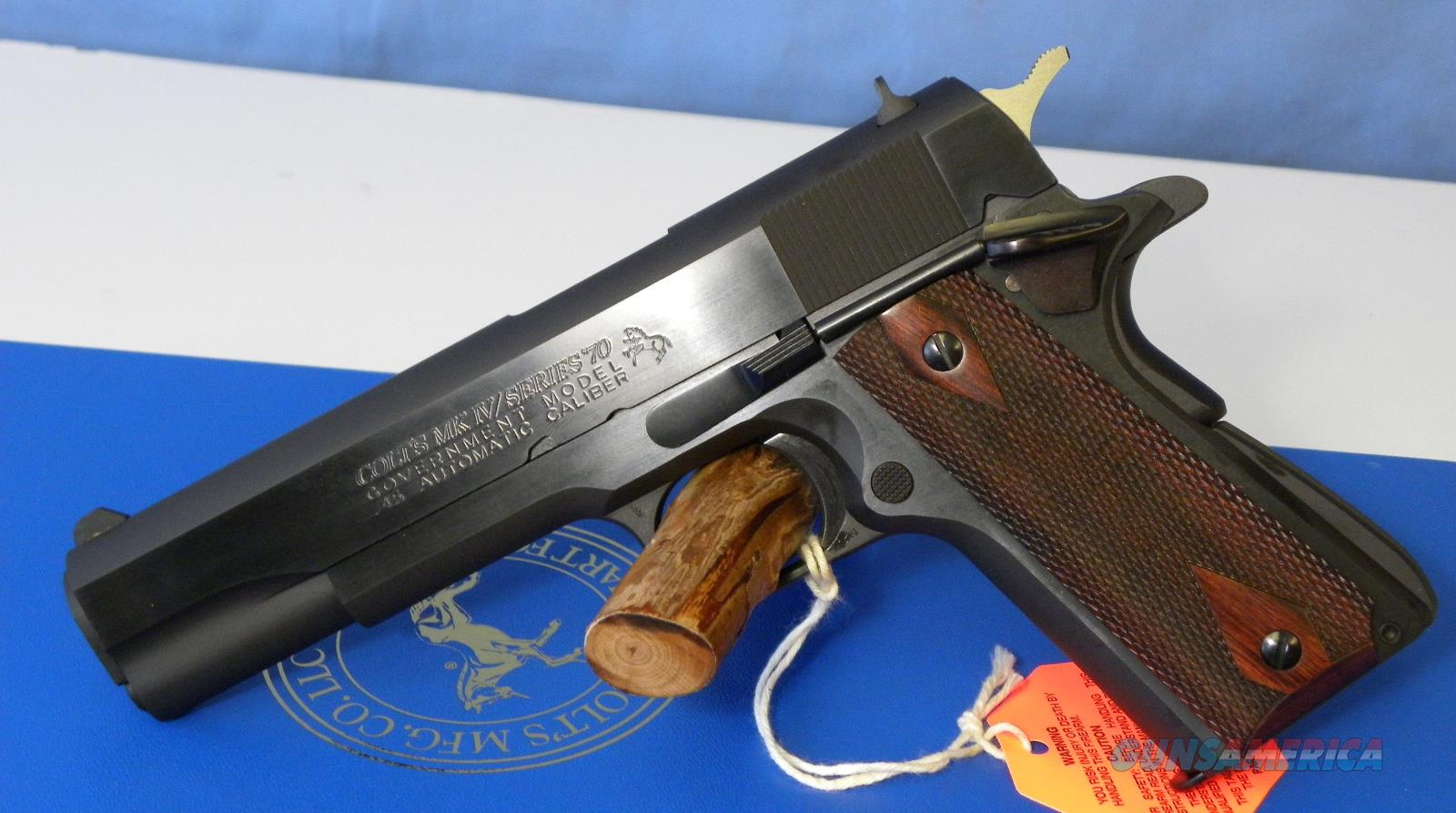 Colt 1911 Government Series 70 O1970A1CS  Guns > Pistols > Colt Automatic Pistols (1911 & Var)