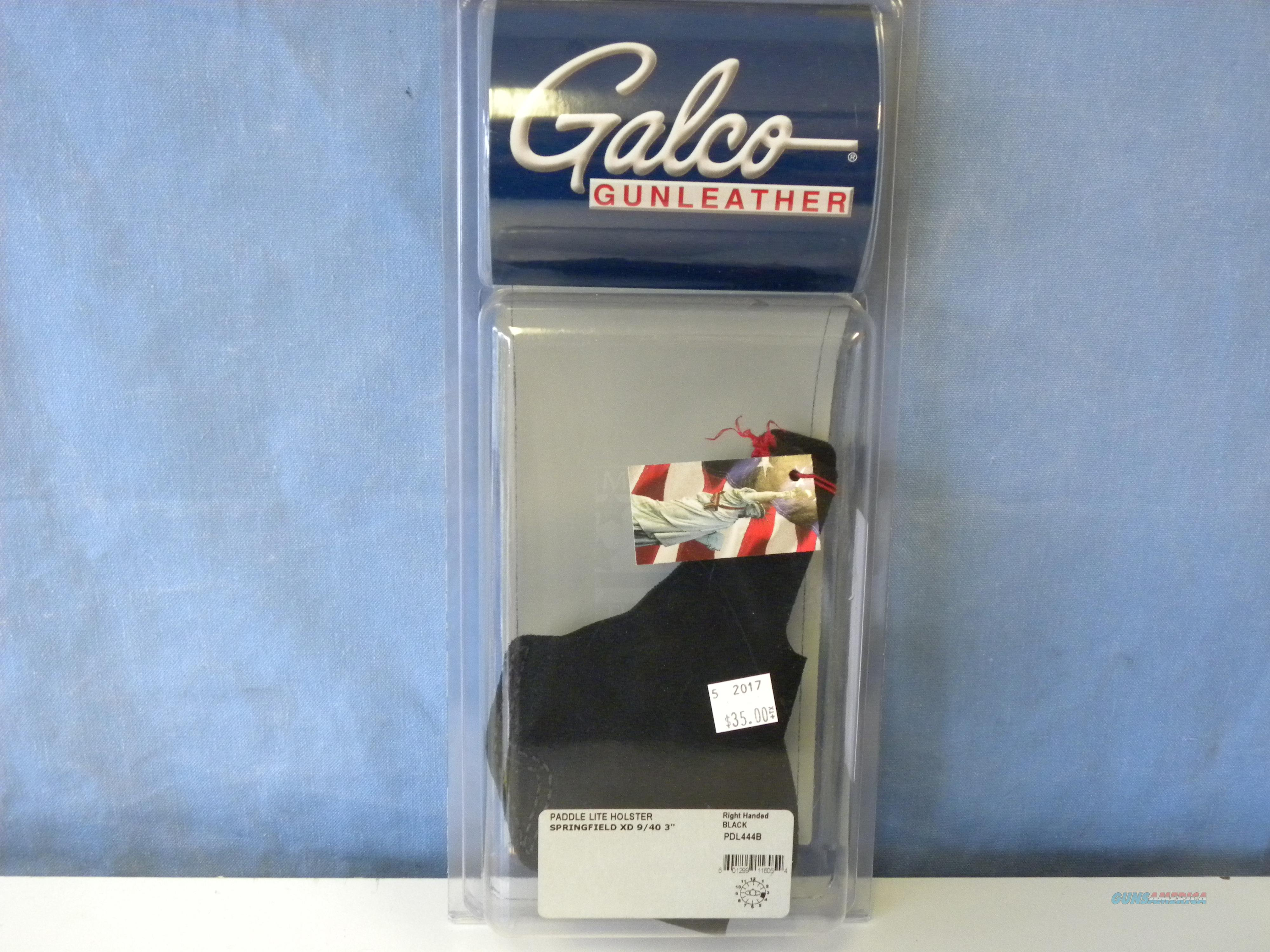 Galco Paddle Lite (PDL444B)  Non-Guns > Holsters and Gunleather > Large Frame Auto