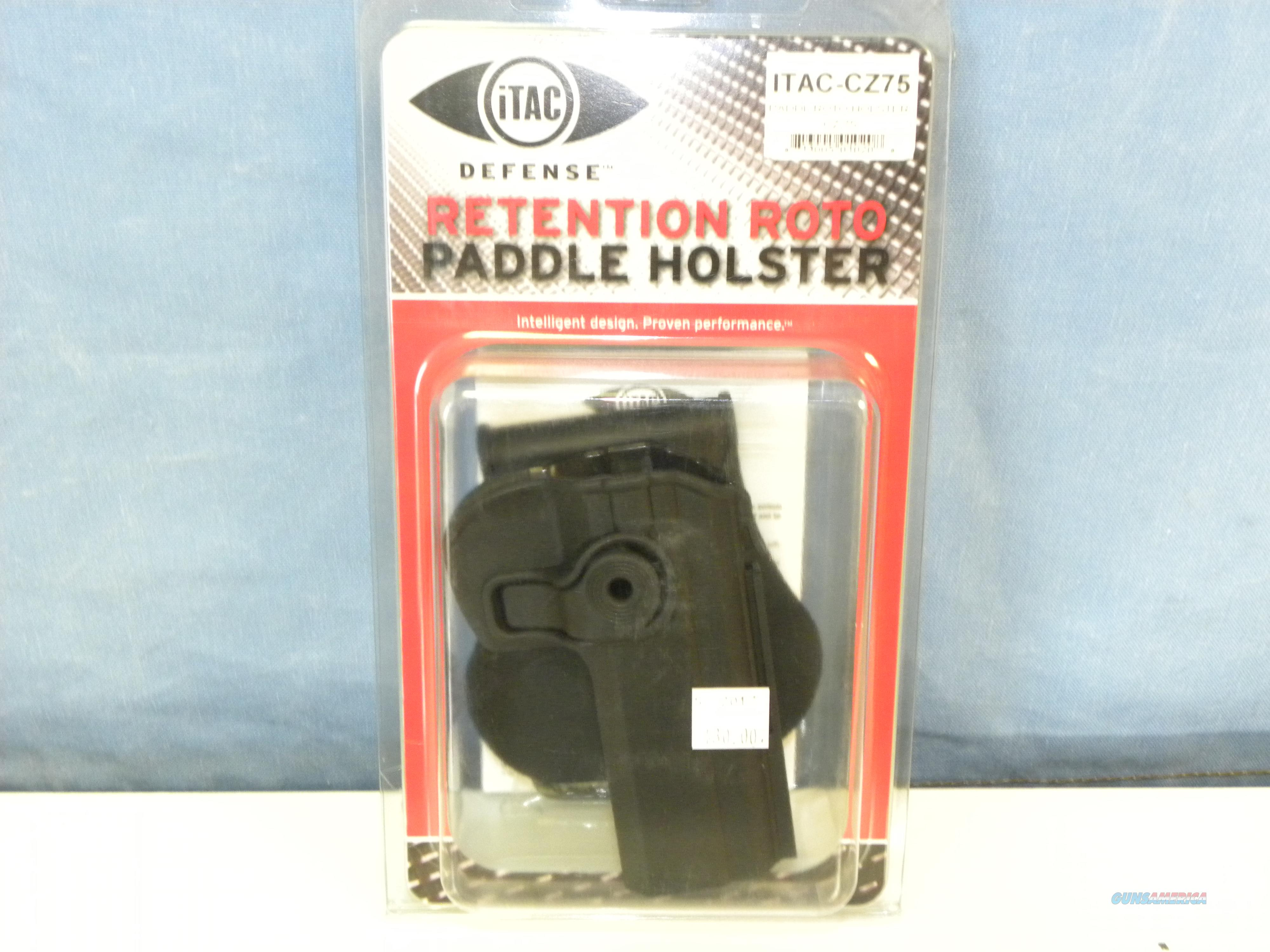iTAC CZ75 Paddle Retention Roto Holster  Non-Guns > Holsters and Gunleather > Large Frame Auto