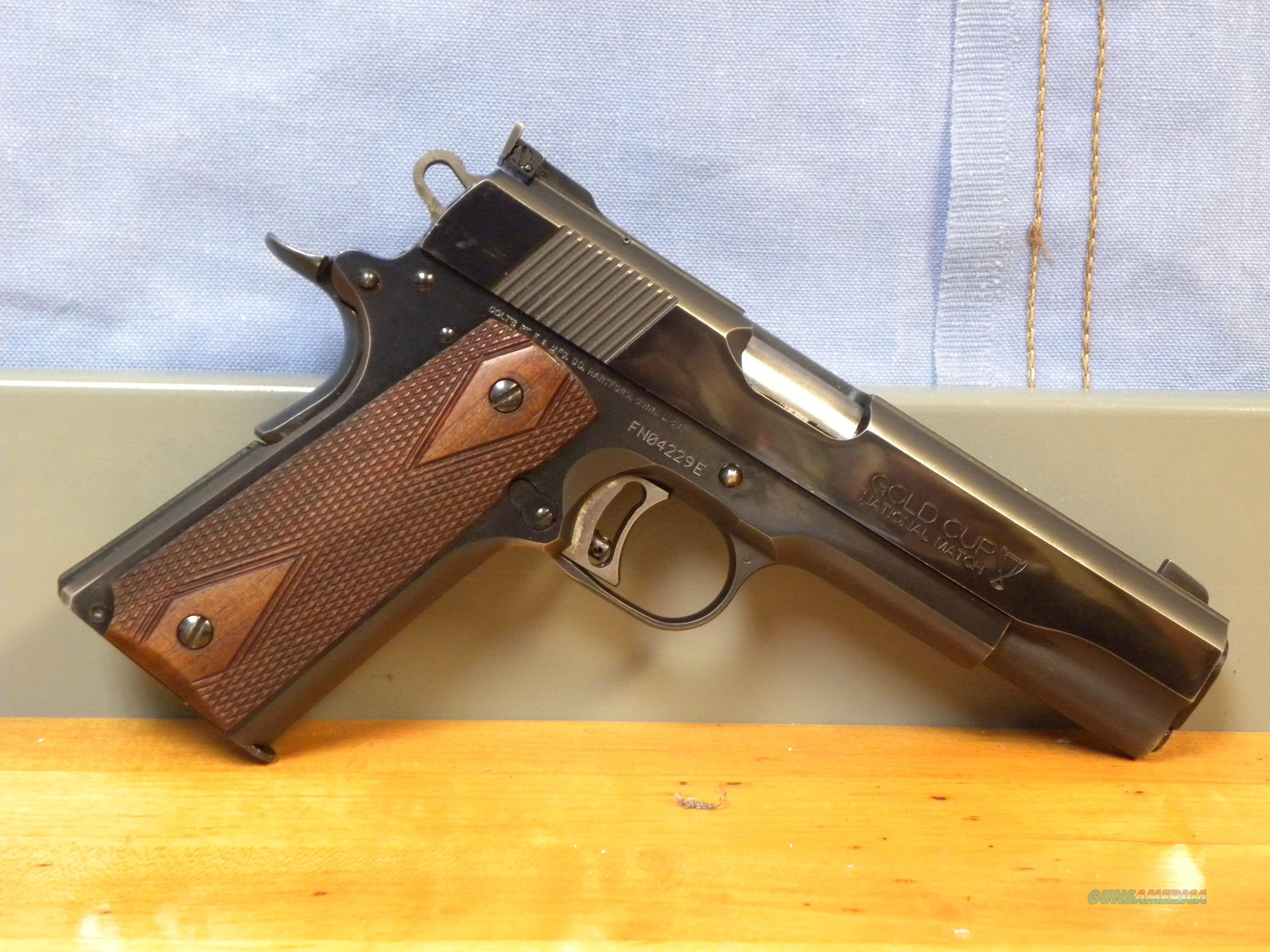 Colt Gold Cup National Match MK IV  Guns > Pistols > Colt Automatic Pistols (1911 & Var)