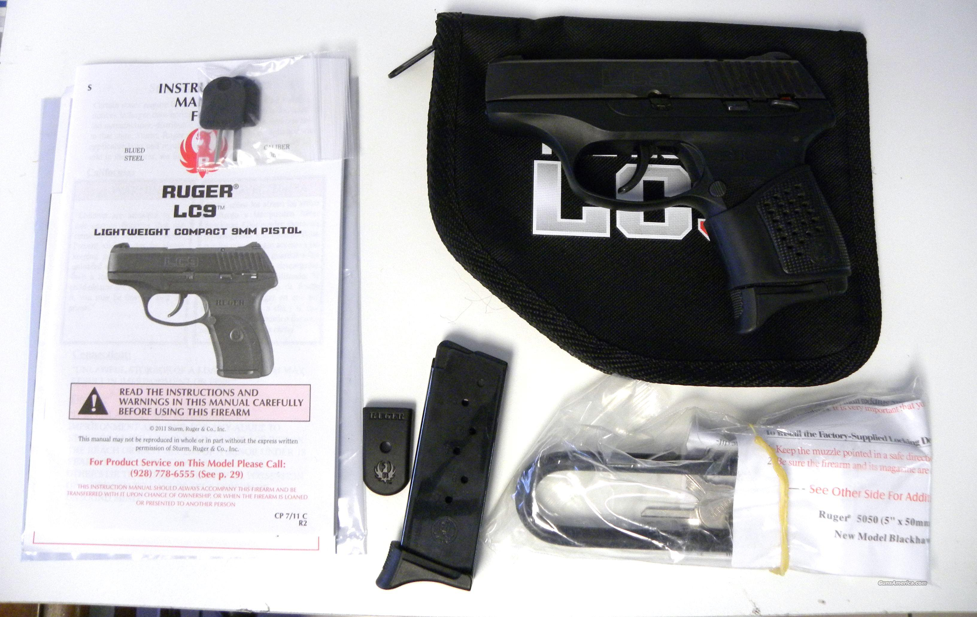 Ruger LC9  Guns > Pistols > Ruger Semi-Auto Pistols > LC9