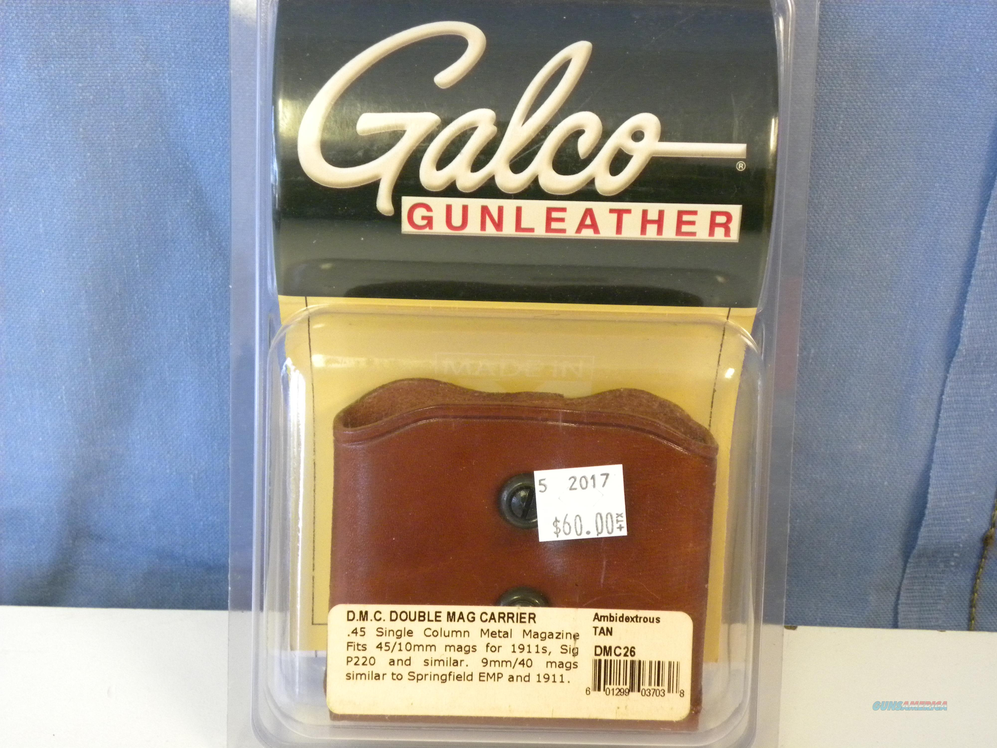 Galco Double Mag Carrier (DMC26)  Non-Guns > Holsters and Gunleather > Magazine Holders