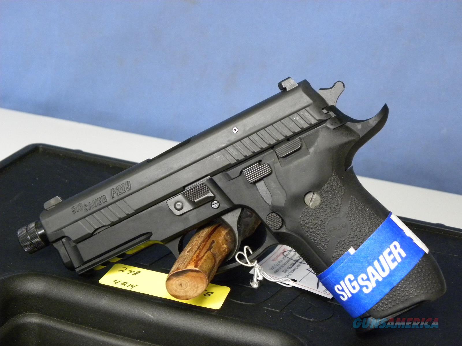 Sig Sauer 229R-9-BSS-USTB Threaded Barrel  Guns > Pistols > Sig - Sauer/Sigarms Pistols > P229