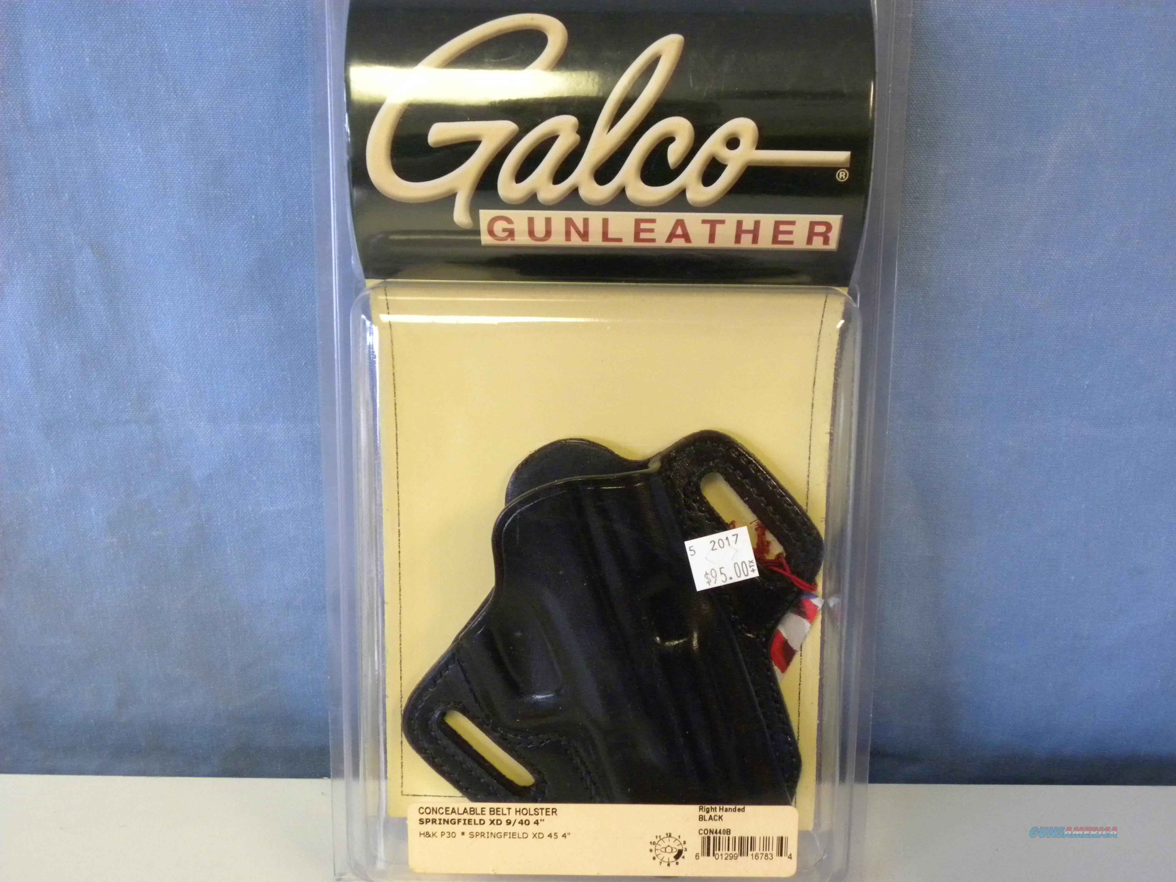 Galco Concealable Belt Holster (CON440B)  Non-Guns > Holsters and Gunleather > Concealed Carry