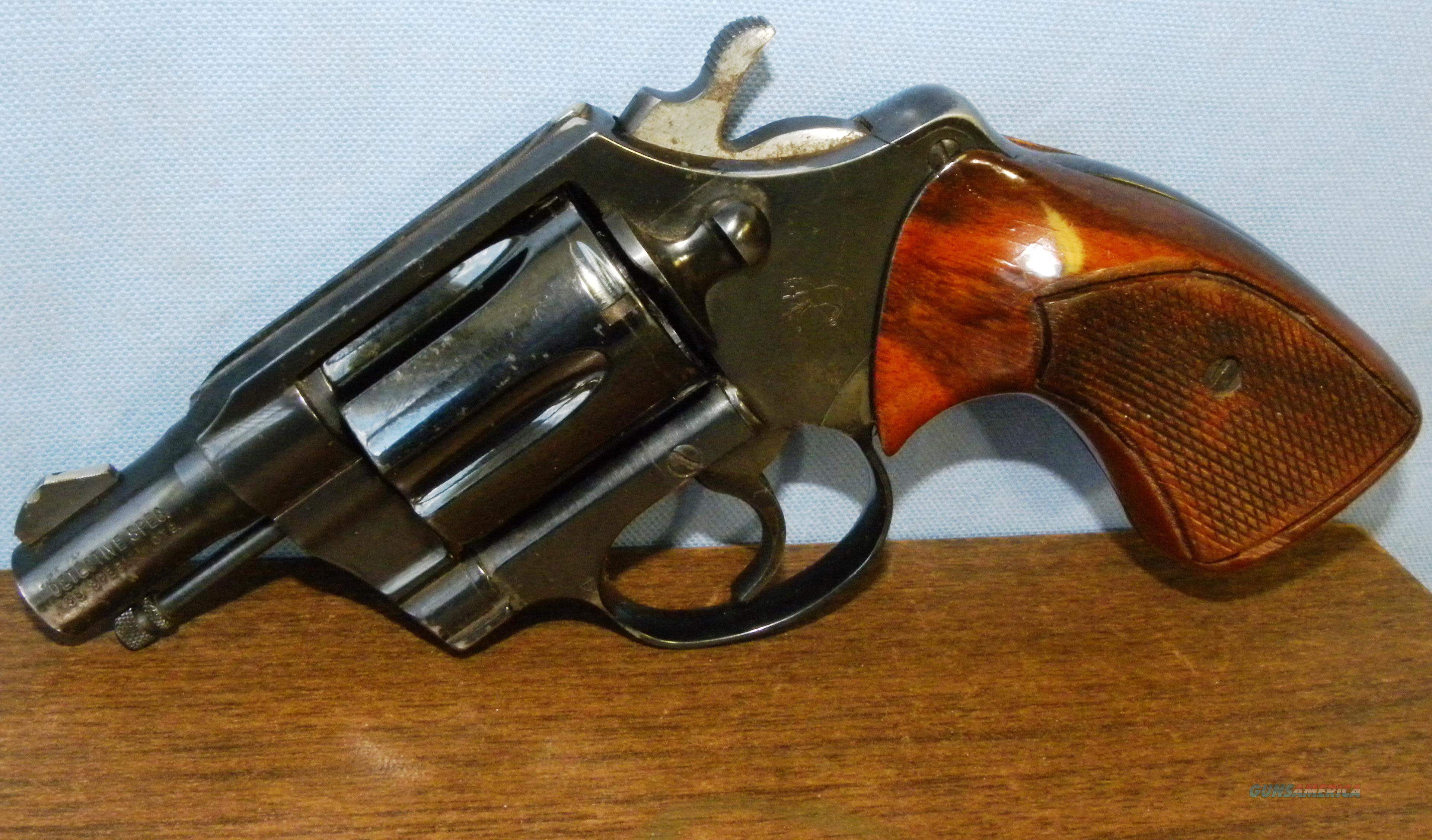 Colt Detective Special 1970s with original Box and Invoice  Guns > Pistols > Colt Double Action Revolvers- Modern