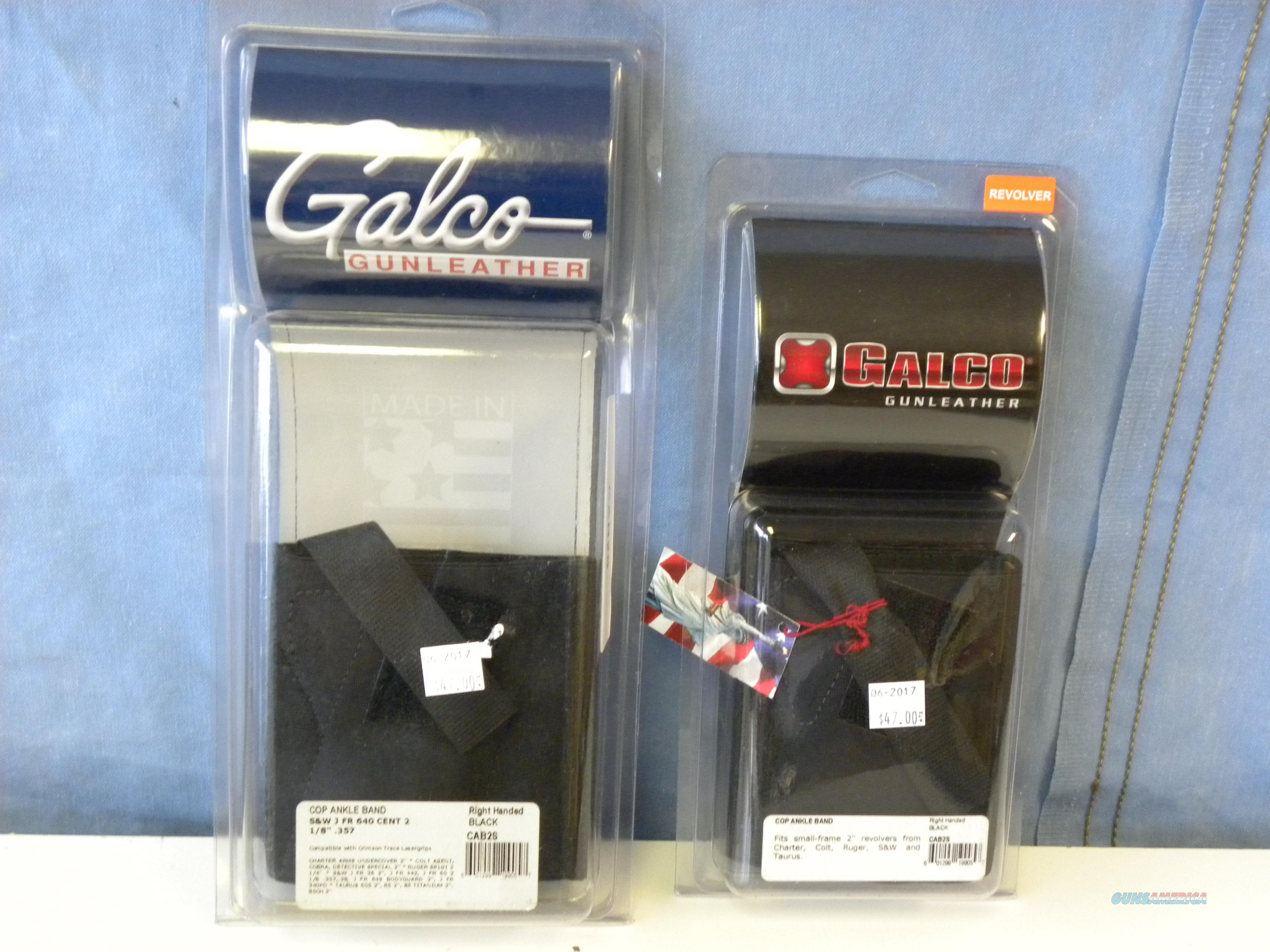 Galco Cop Ankle Band (CAB2S now CAB2L)  Non-Guns > Holsters and Gunleather > Concealed Carry