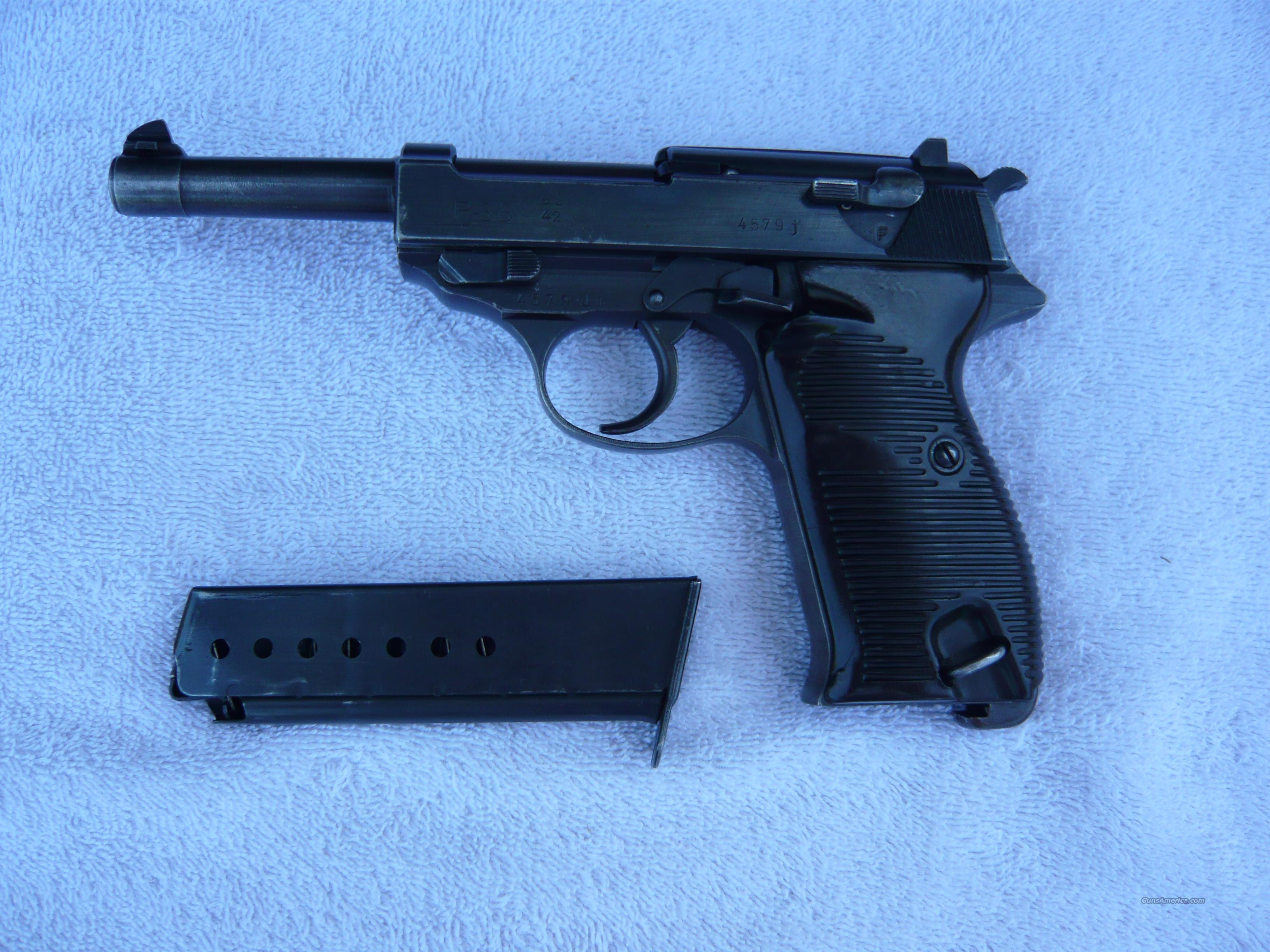 German P-38 Pistol all Matching Ser. Number  Guns > Pistols > Military Misc. Pistols Non-US