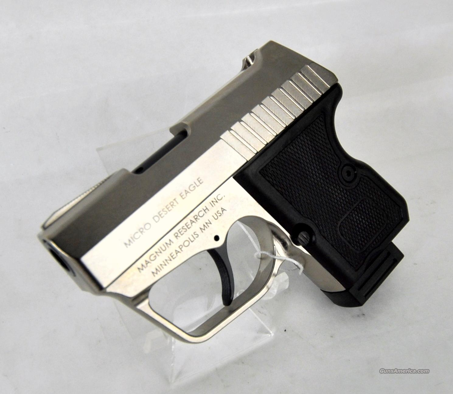 Magnum Reaserch Micro Desert Eagle 380  Guns > Pistols > Magnum Research Pistols