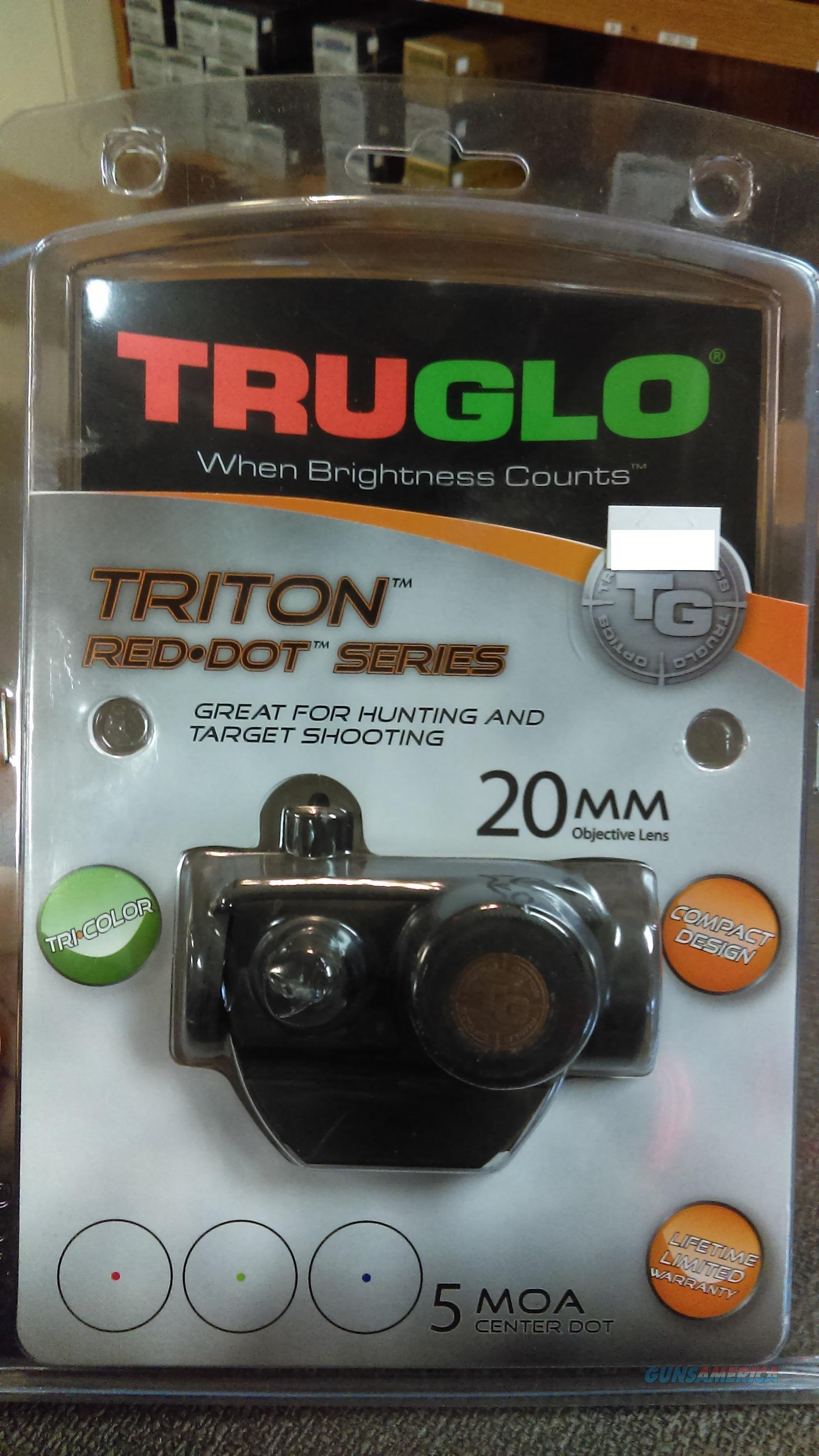 Truglo Triton Red Dot  Non-Guns > Scopes/Mounts/Rings & Optics > Tactical Scopes > Red Dot