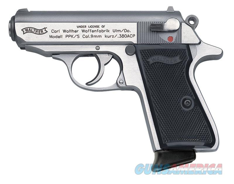 Walther PPK/S .380  Stainless  Guns > Pistols > Walther Pistols > Post WWII > PPK Series