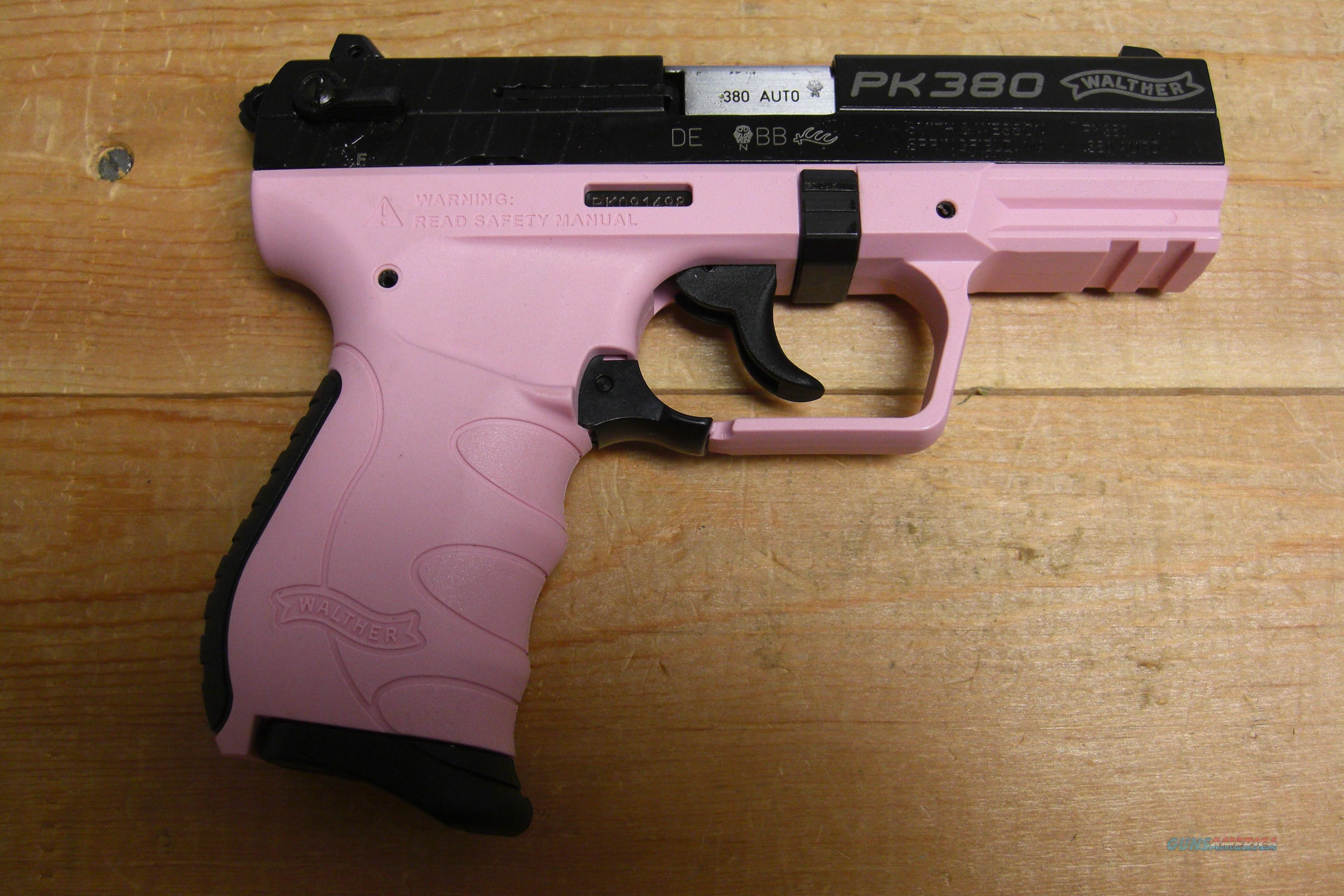 Walther PK380 Pink Frame  Guns > Pistols > Walther Pistols > Post WWII > PK380