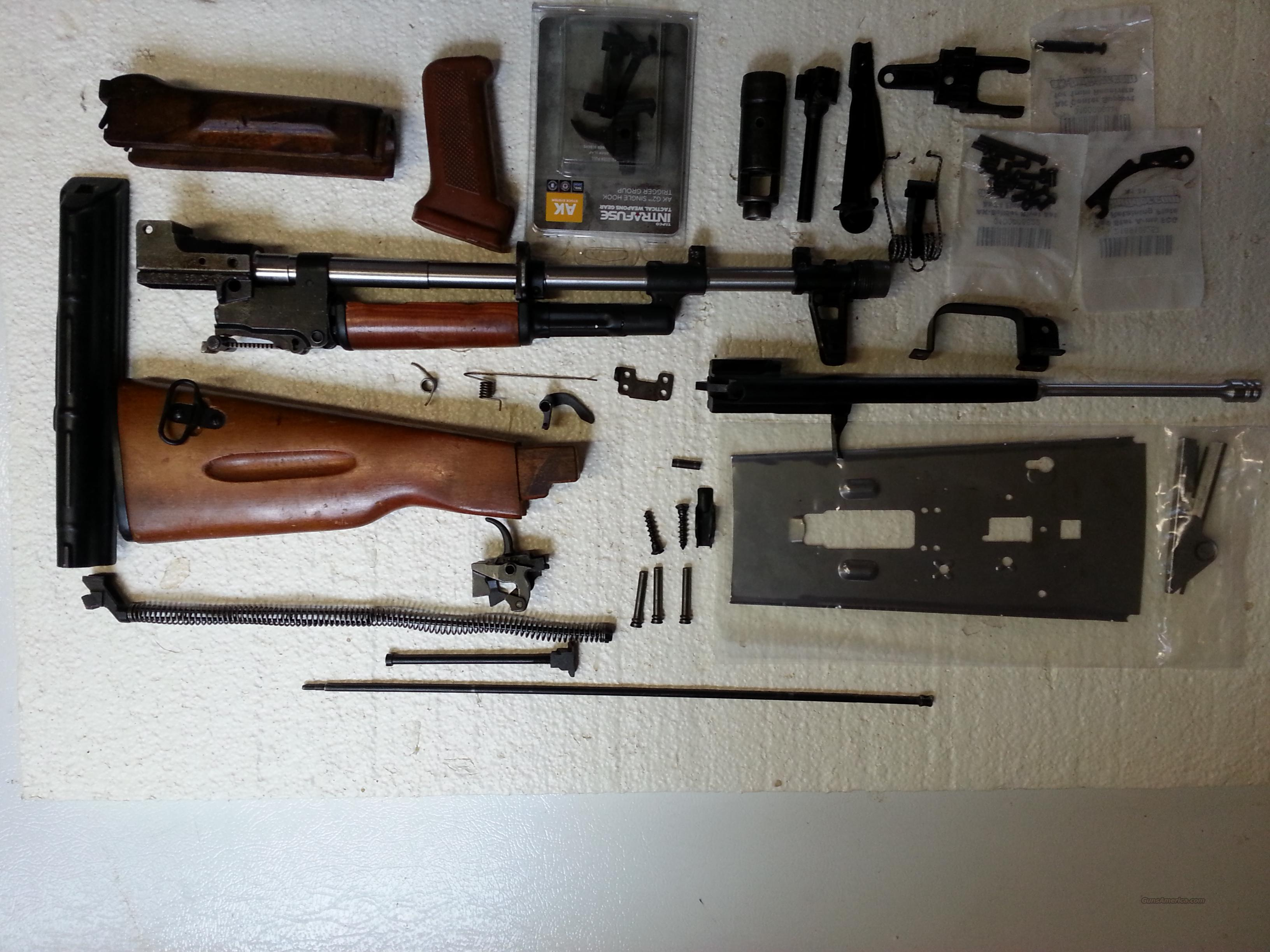 Bulgarian AK-74 COMPLETE Kit w/assembled Barrel    for sale