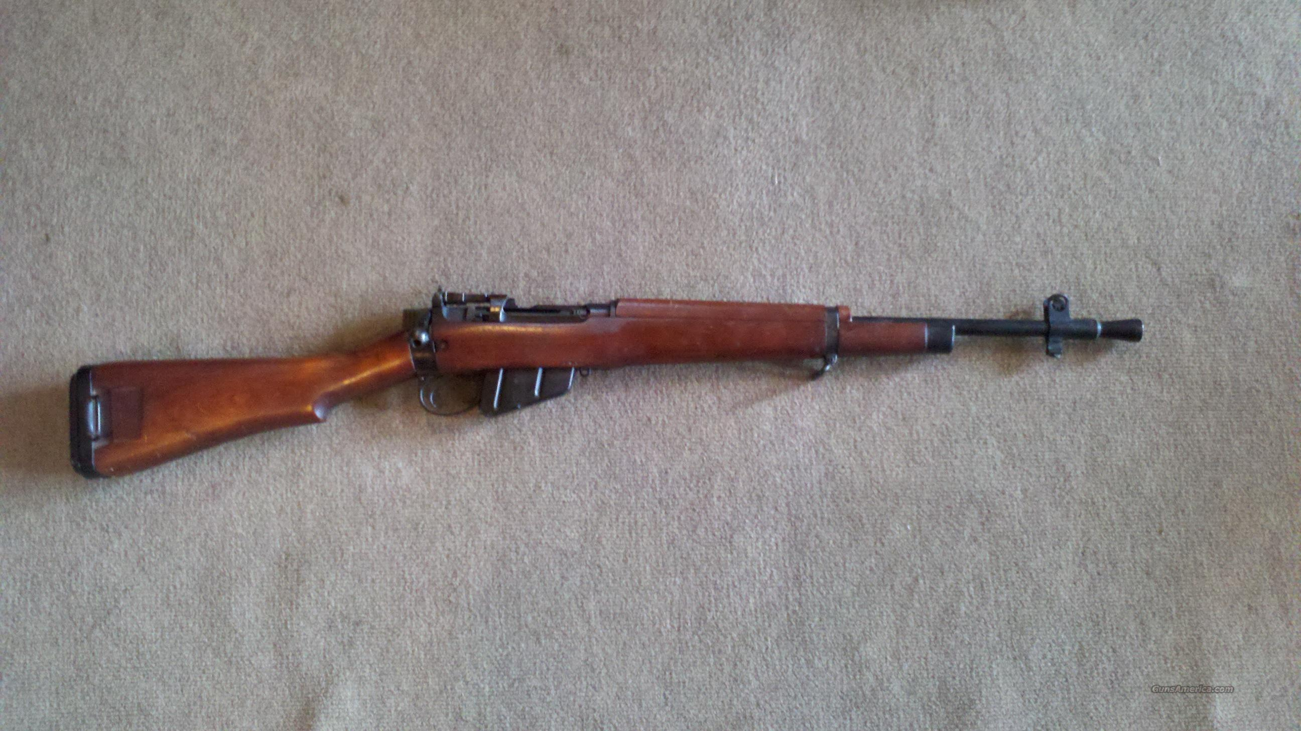 Enfield No. 5 Jungle Carbine  Guns > Rifles > Enfield Rifle