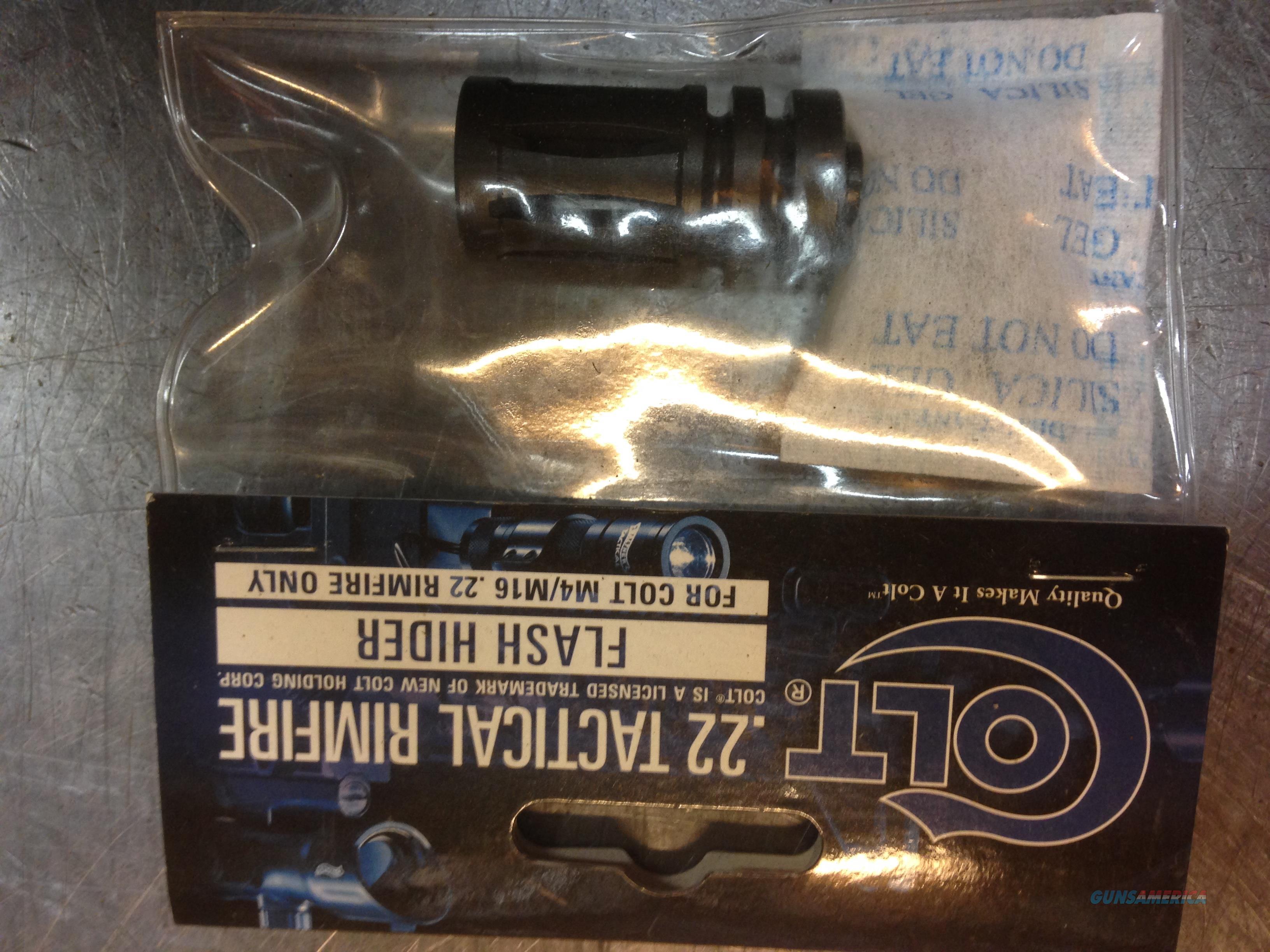 Colt .22 Tactical Rimfire Flash Hider #576.100  Non-Guns > Gun Parts > M16-AR15 > Upper Only