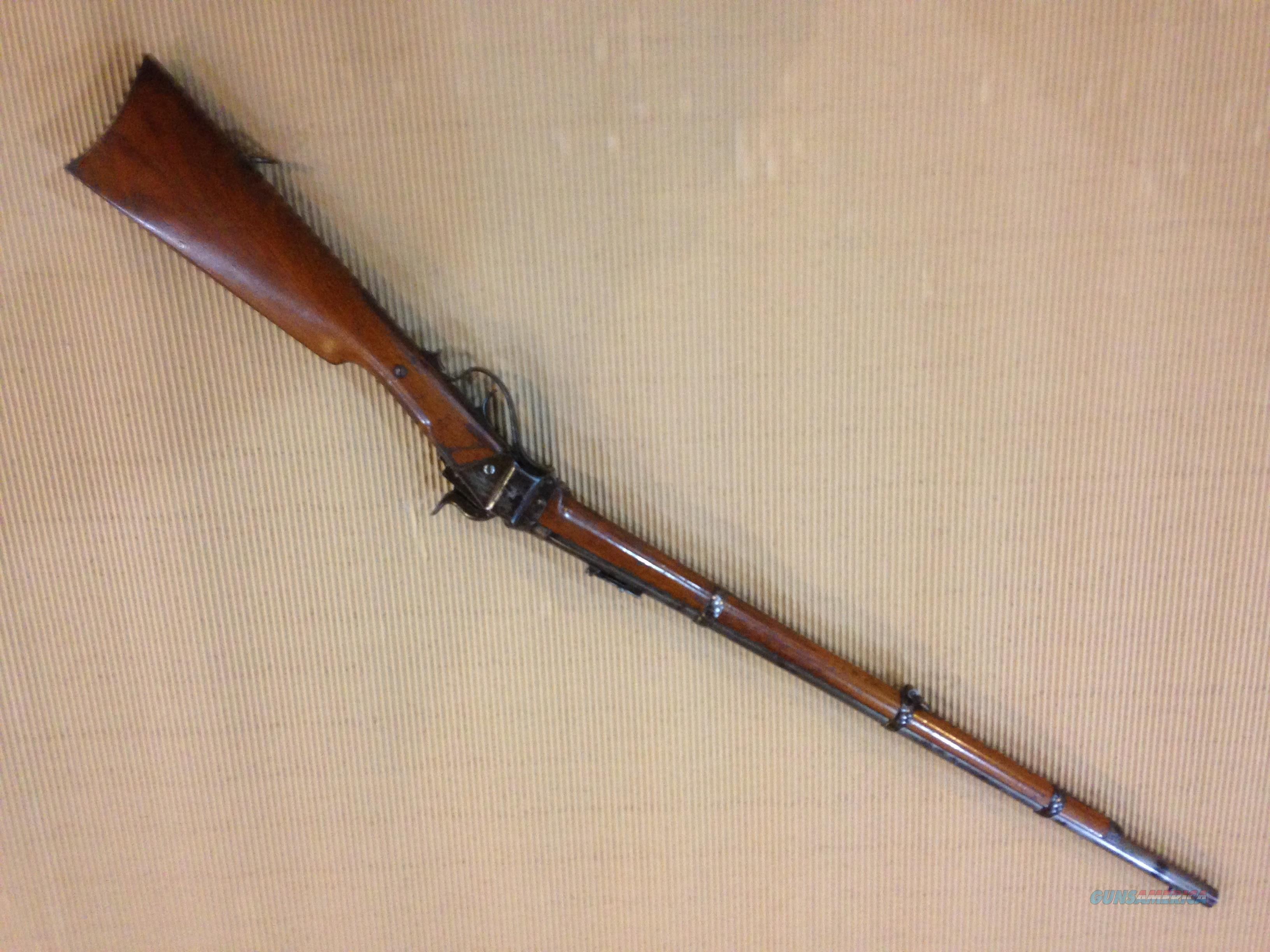 "C. Sharps ORIGINAL New Model 1863 .52cal, 30""BBL  Guns > Rifles > Sharps Rifles - Pre-1899"