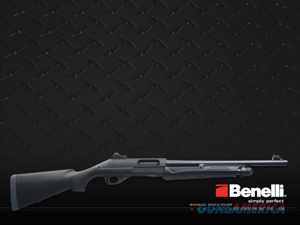 Benelli Nova Tactical w/ Ghost Ring 12ga #20051  Guns > Shotguns > Benelli Shotguns > Tactical