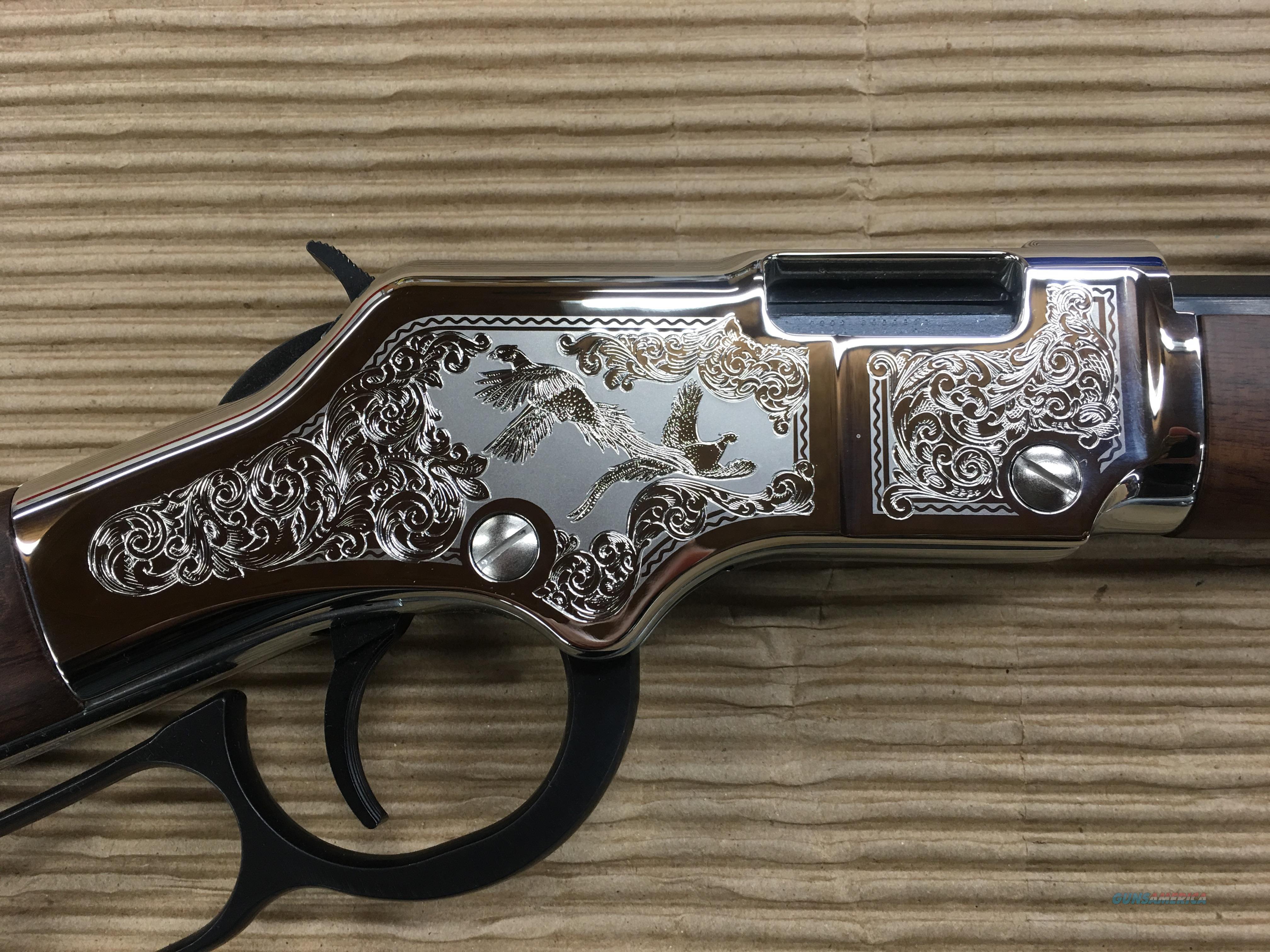 Henry Silver Pheasant .22 #H004SPF  Guns > Rifles > Henry Rifle Company