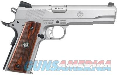 RUGER SR1911 45AUTO SS 8RD #6700    Guns > Pistols > Ruger Semi-Auto Pistols > P-Series