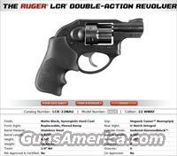 Ruger LCR .22 Mag, LCR 6 shot 22 WMR  Guns > Pistols > Ruger Double Action Revolver > LCR
