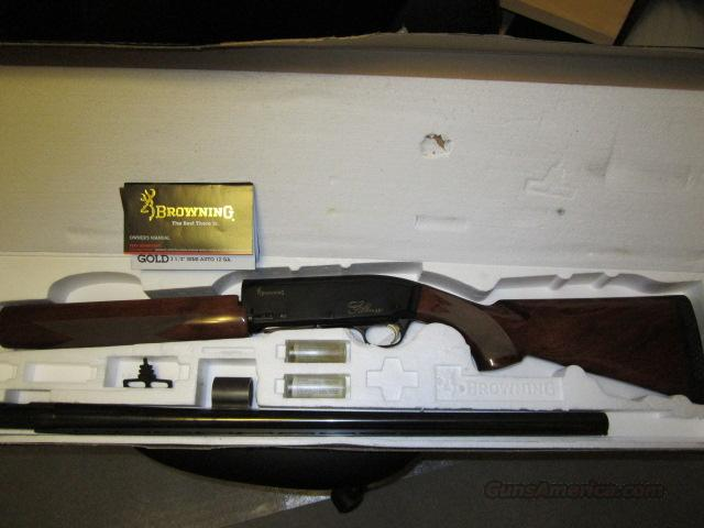 "Browning Gold Hunter 12GA Shotgun 26"" Barrel 3 1/2 Chamber  Guns > Shotguns > Browning Shotguns > Autoloaders > Hunting"