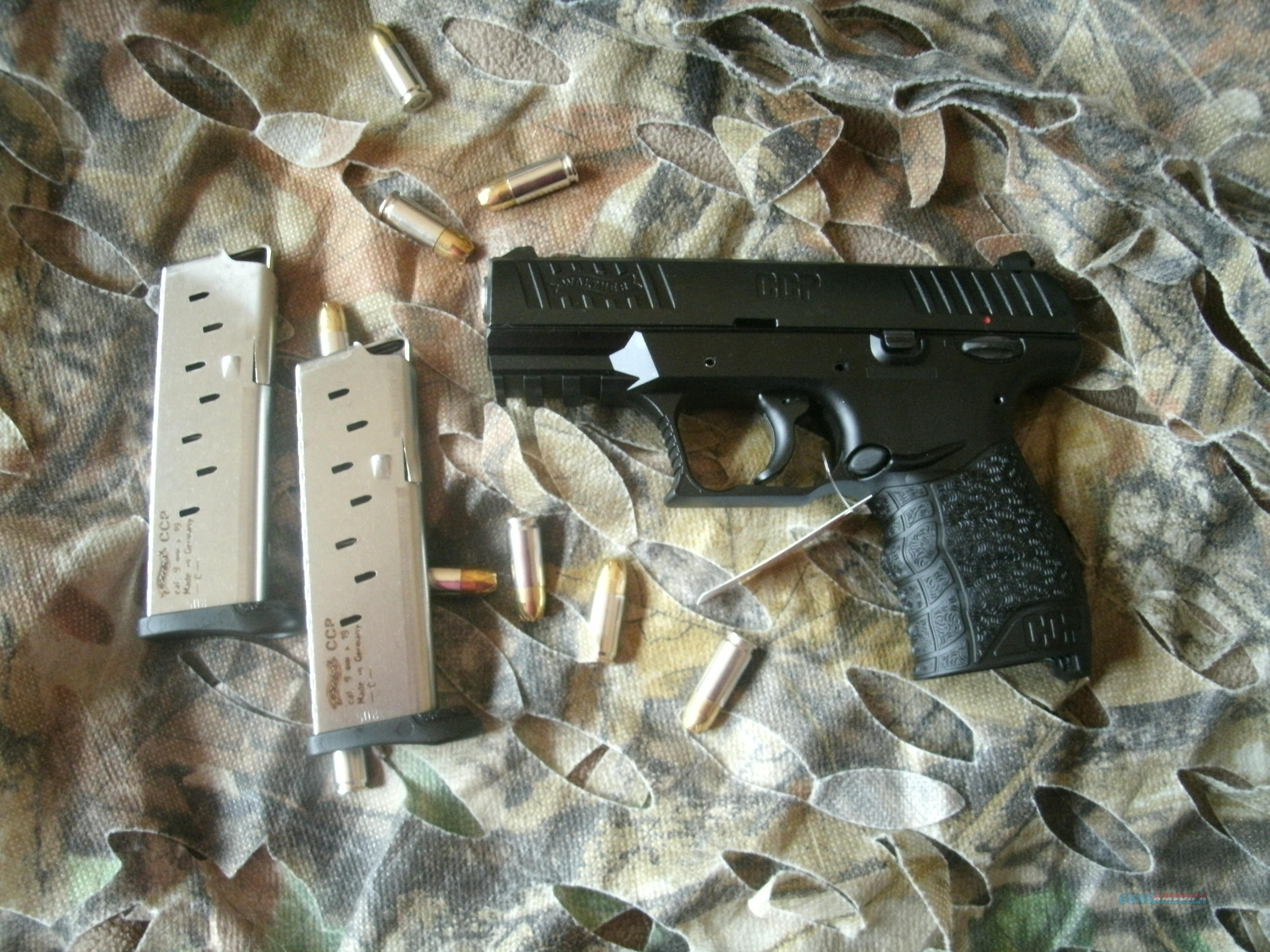 Walther CCP 9mm with 2 magazines  Guns > Pistols > W Misc Pistols