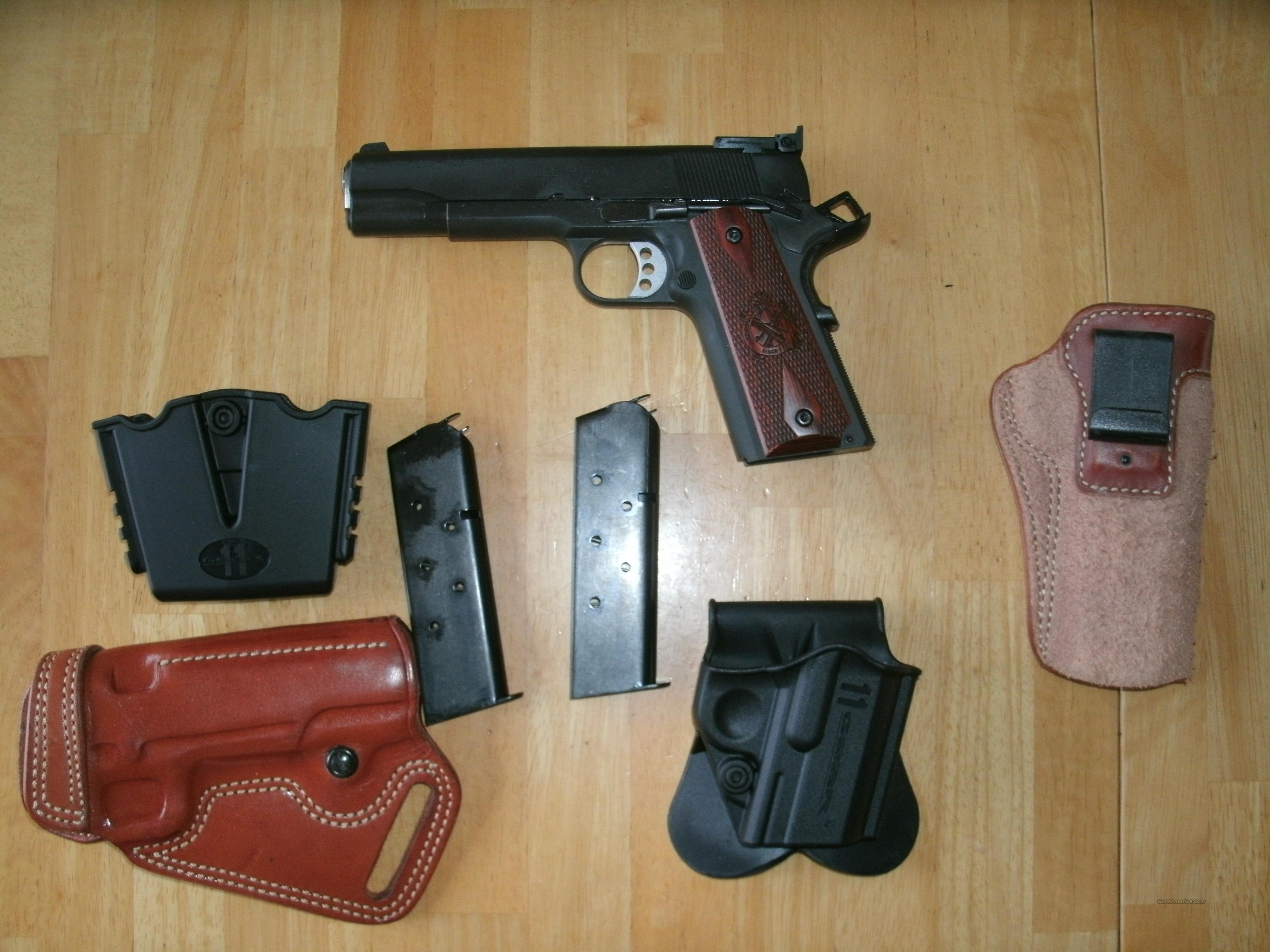 Springfield Armory Range Officer + Holsters  Guns > Pistols > 1911 Pistol Copies (non-Colt)