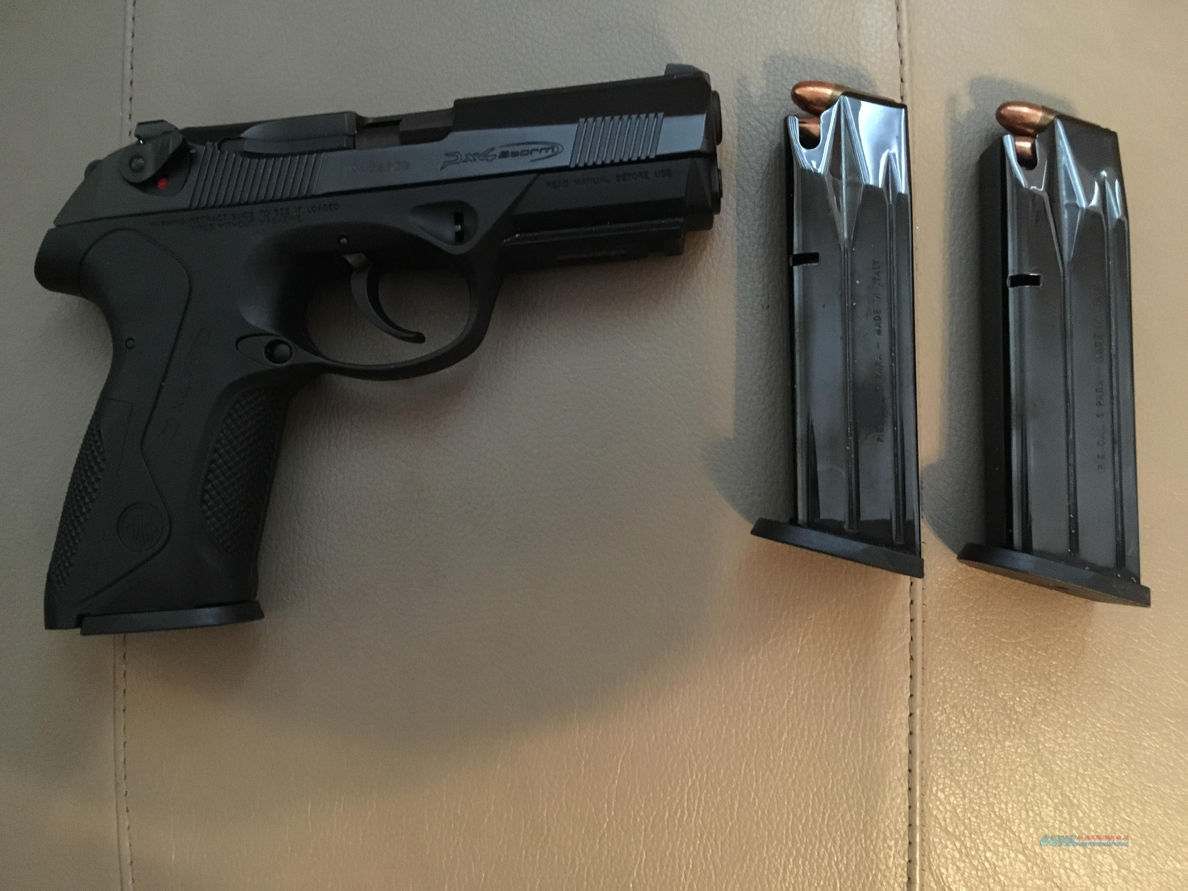 BERETTA 9MM PX4 STORM 17 RDS  3 MAGAZINES  FULLY LOADED  Guns > Pistols > Beretta Pistols > Model 92 Series