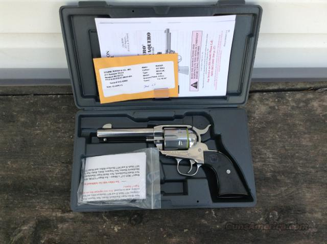 Ruger New Vaquero 357 Mag KNV-34 Stainless 5109  Guns > Pistols > Ruger Single Action Revolvers > Cowboy Action