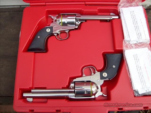 Ruger New Vaquero SASS Set 45 LC Consecutive Numbers!  Guns > Pistols > Ruger Single Action Revolvers > Cowboy Action