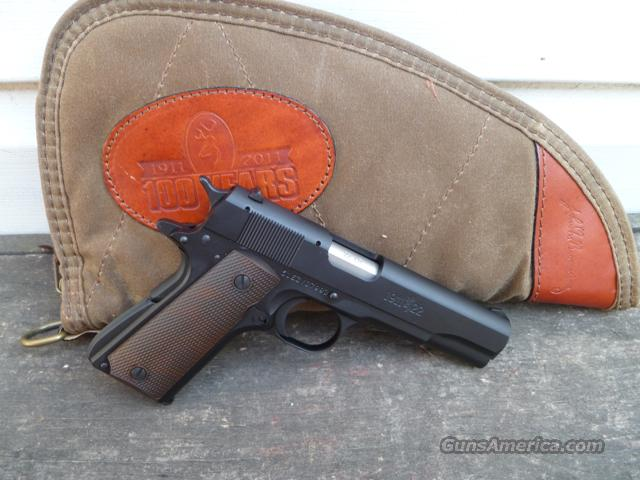 Browning 1911-22 22 LR 2/3rds size 1911 Buckmark!  Guns > Pistols > Browning Pistols > Other Autos
