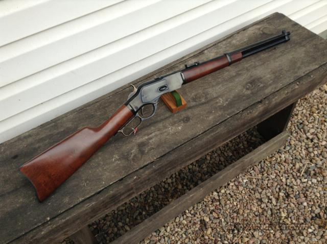 "Taylor Uberti 1873 Carbine 357 Mag 38 spl 19"" NEW  Guns > Rifles > Taylors & Co. Rifles > Winchester Lever Type"