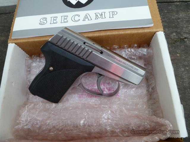 Late Model Seecamp LWS 32acp w/box & papers!  Guns > Pistols > Seecamp Pistols
