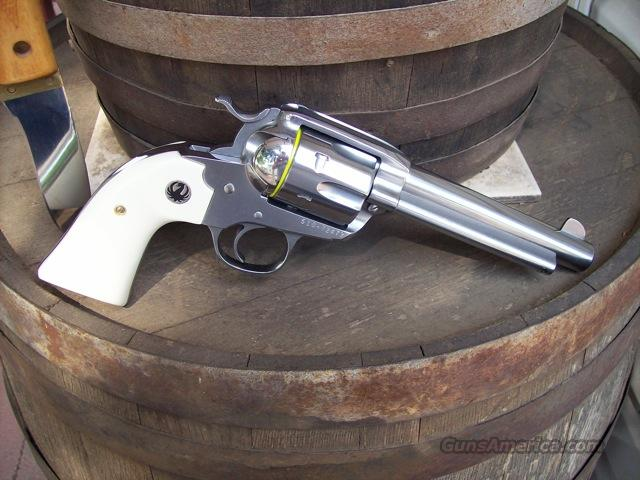 Ruger Bisley Vaquero Stainless/ivory 357 mag!  Guns > Pistols > Ruger Single Action Revolvers > Cowboy Action