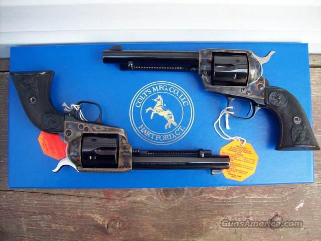 Colt Single Action Army 38-40 SAA Consecutive Pair!   Guns > Pistols > Colt Single Action Revolvers - 3rd Gen.