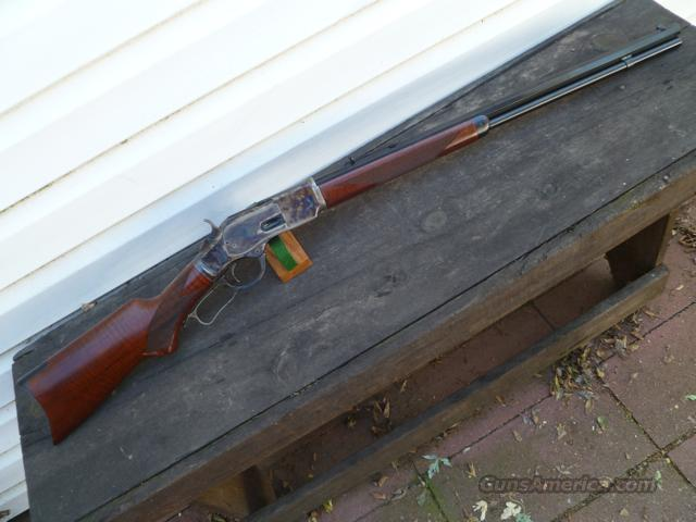 "Taylor Uberti 1873 45LC DLX 24"" 45 LC NEW!   Guns > Rifles > Taylors & Co. Rifles > Winchester Lever Type"