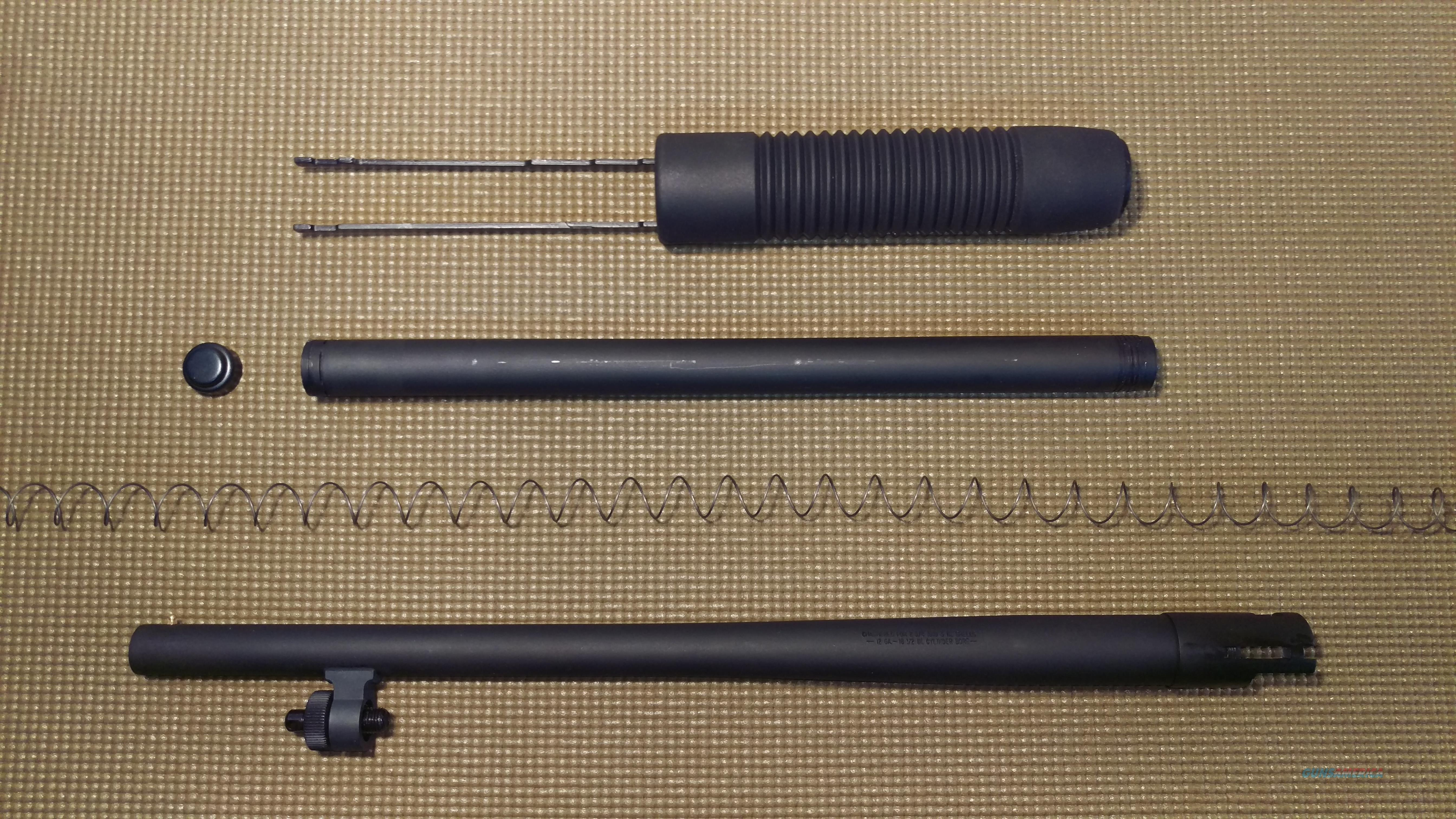 "Mossberg 500 Complete Front End ( 12 Ga 18.5"" Security Barrel )  Non-Guns > Gun Parts > By Manufacturer > Mossberg"