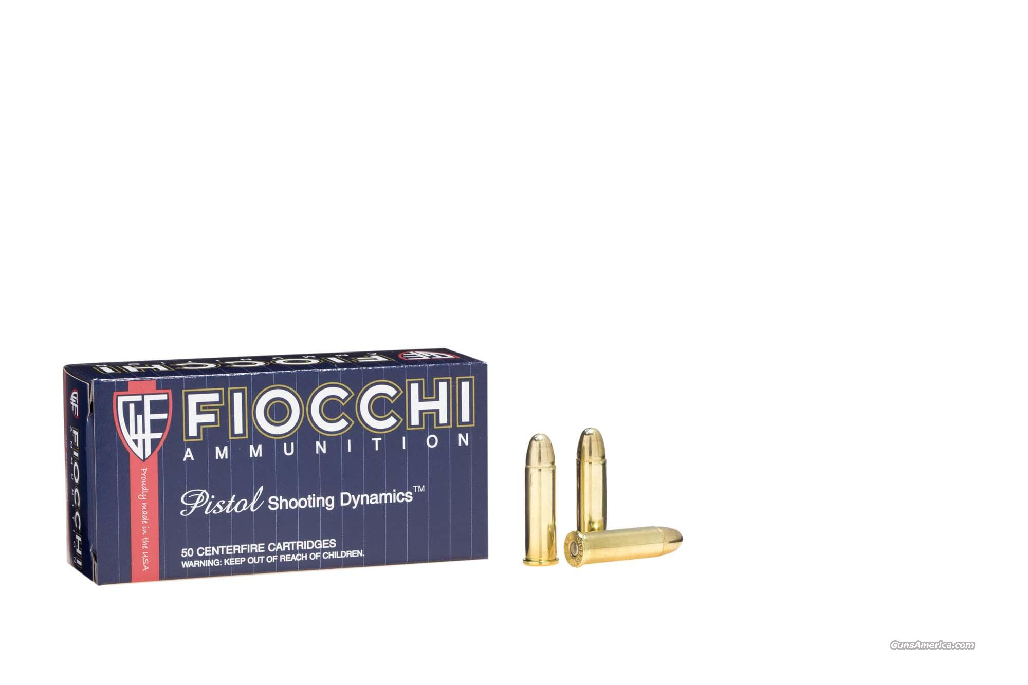FIOCCHI 38 Special 130 gr. FMJ - 1000 Rounds - New Brass Ammo   Non-Guns > Ammunition