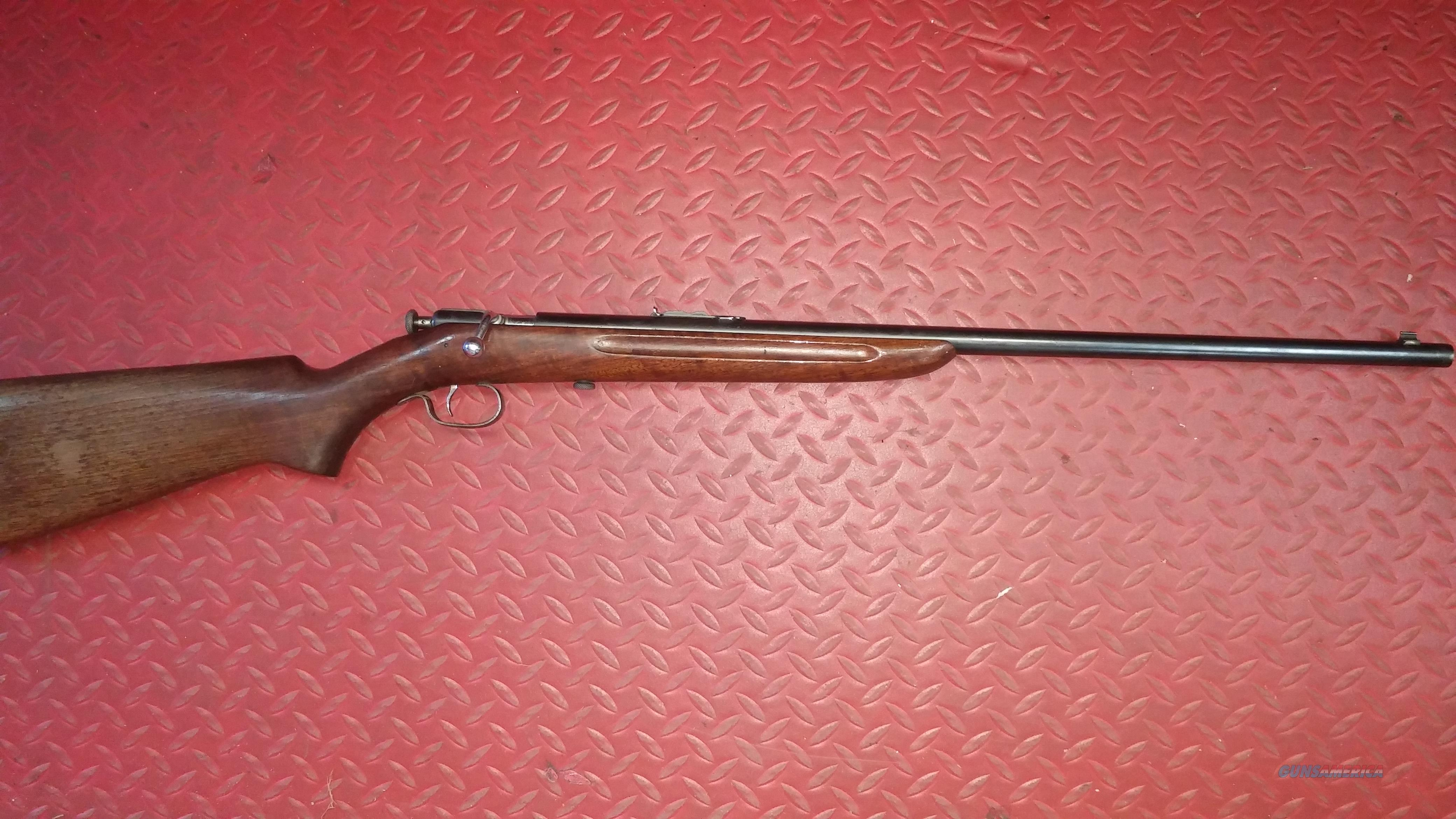 Winchester 60A single shot  Guns > Rifles > Winchester Rifles - Modern Bolt/Auto/Single > Single Shot
